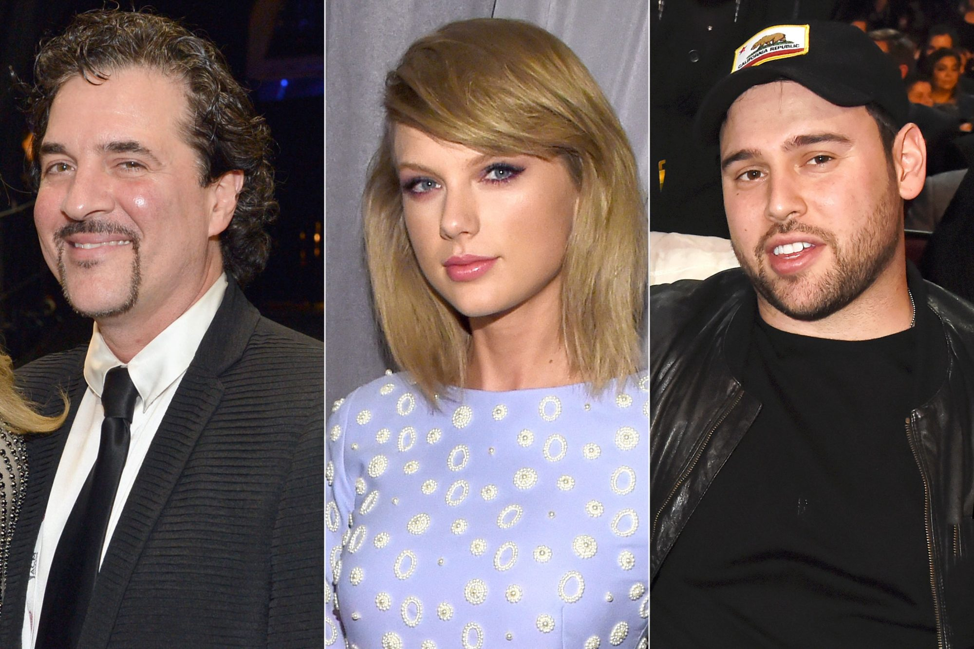 Scott Borchetta, Taylor Swift, Scooter Braun