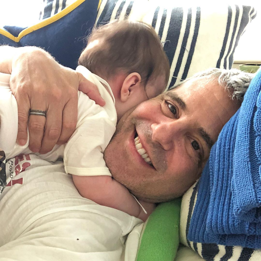Andy Cohen and baby