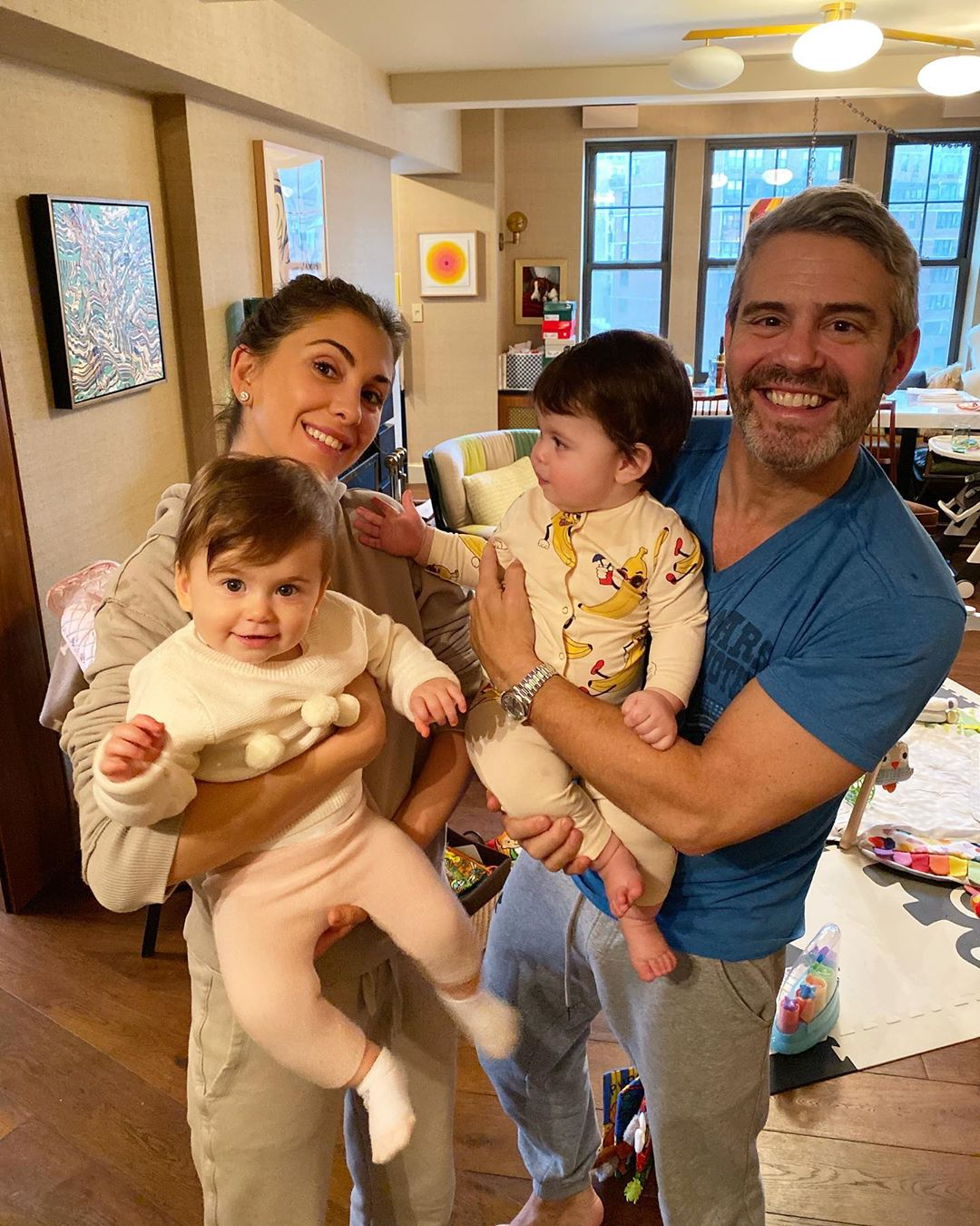 Andy Cohen baby playdate