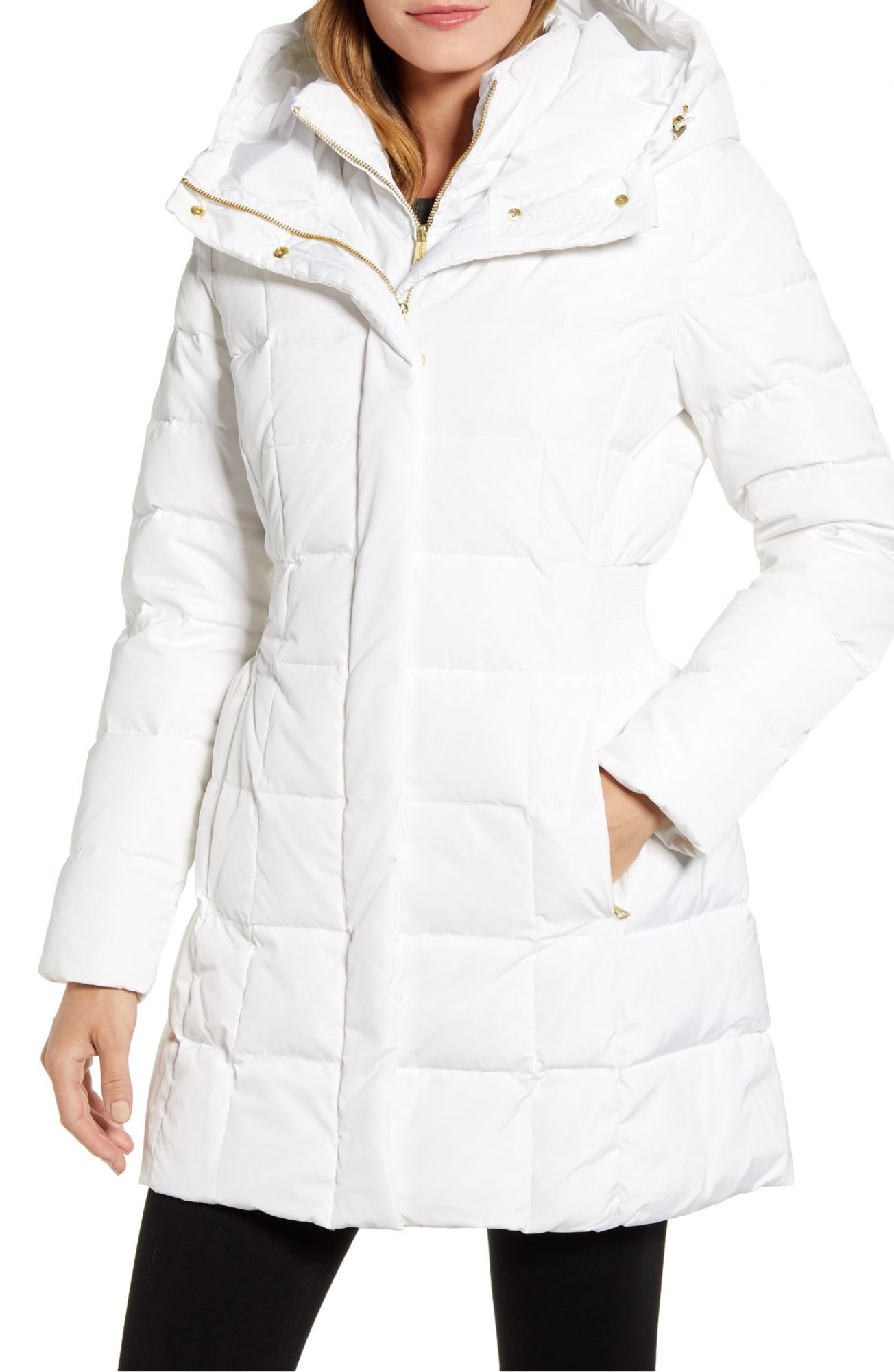 Cole Haan Hooded Down & Feather Jacket COLE HAAN SIGNATURE ; Nordstrom