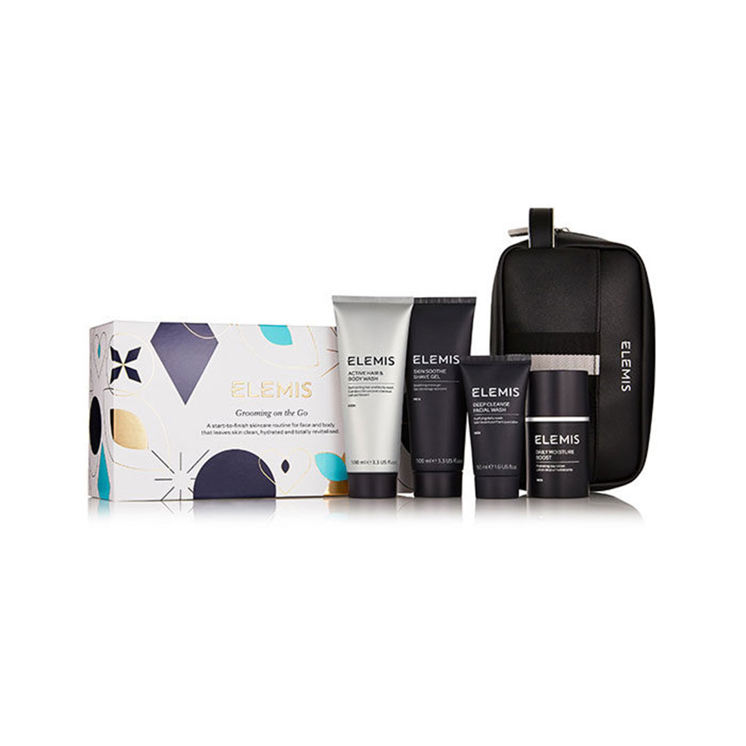 Elemis Grooming on the Go for Him Skincare Set
