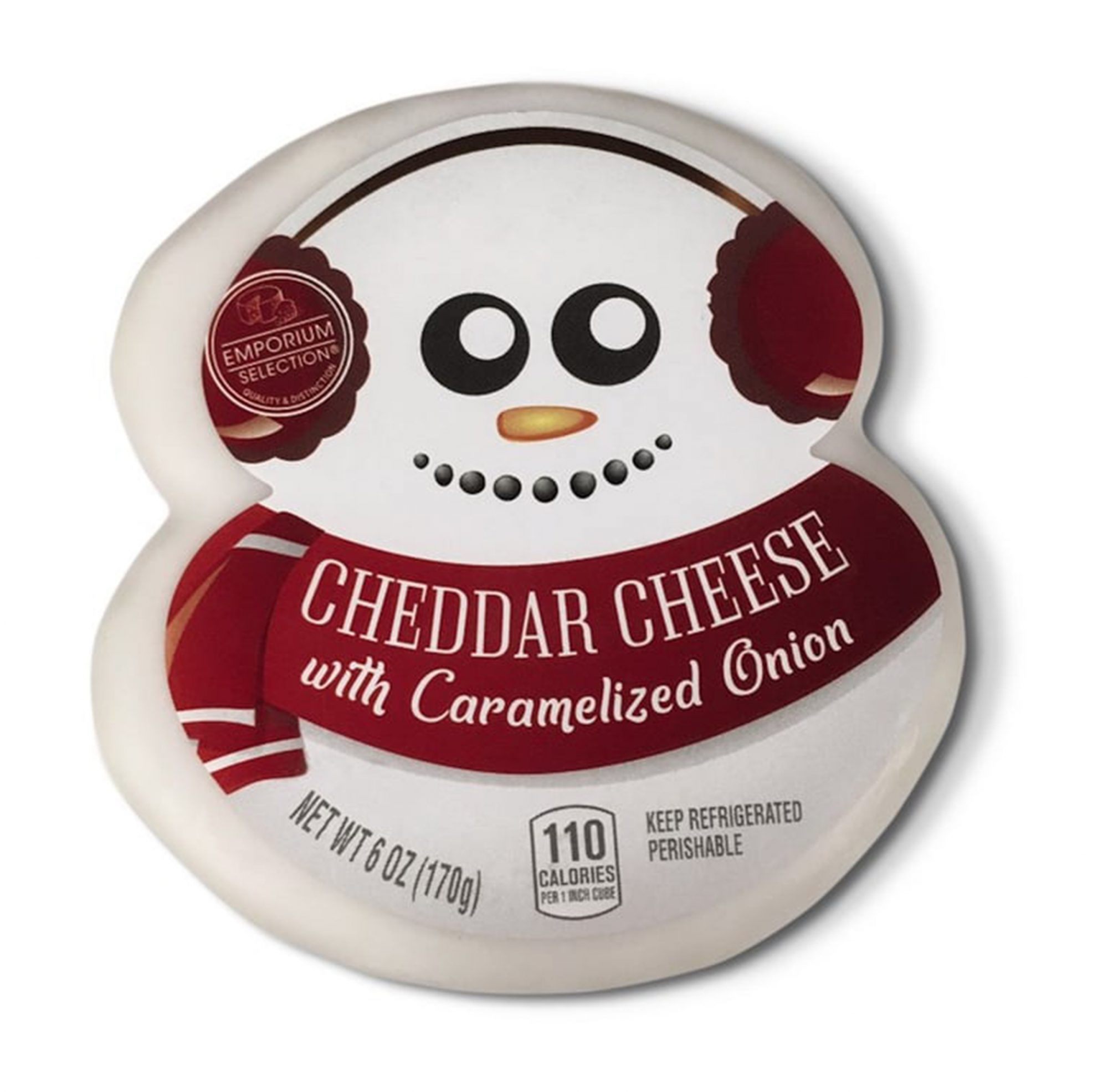 Aldi Christmas themed cheese