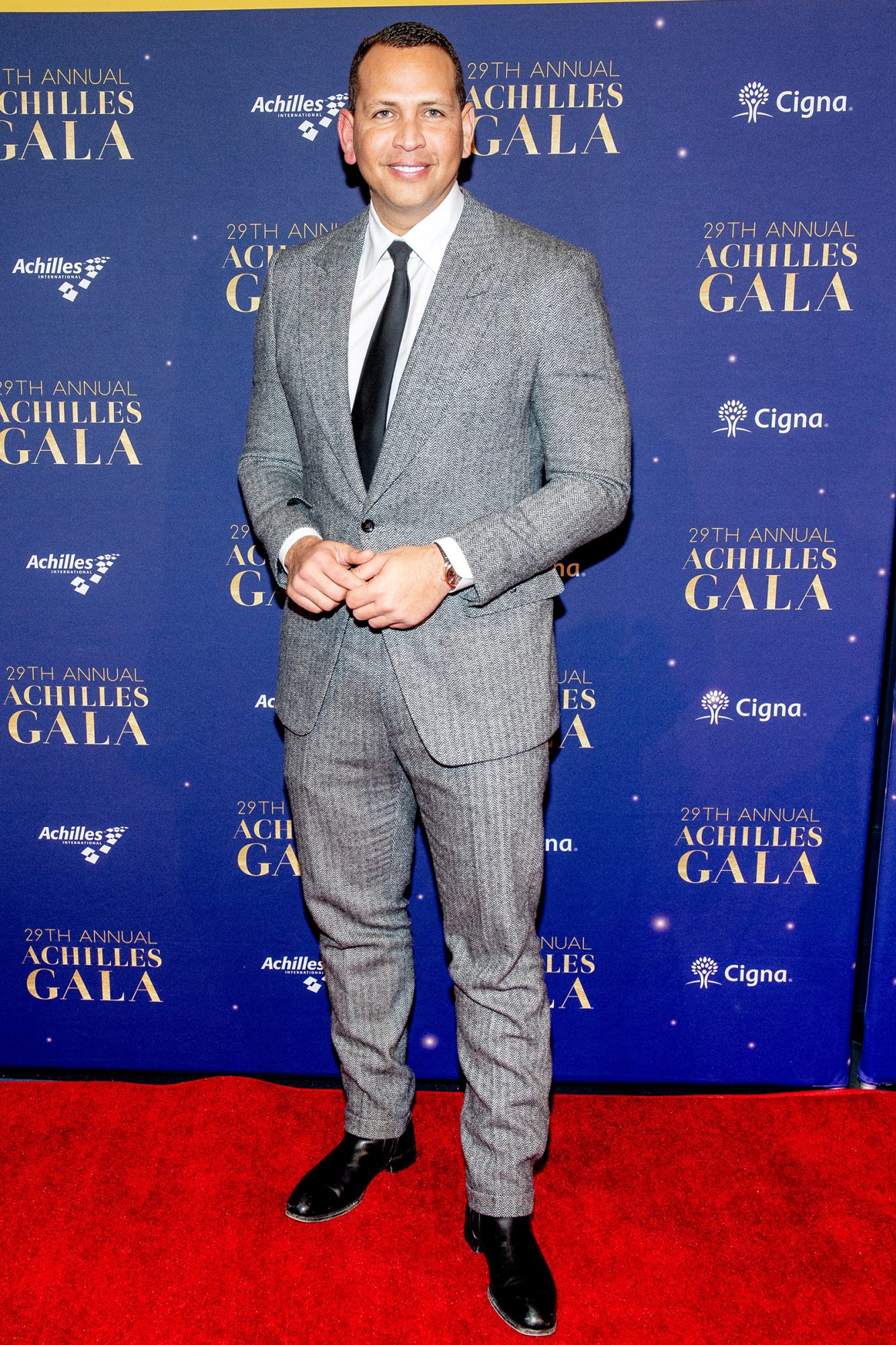 Alex Rodriguez attends the 29th Annual Achilles Gala at Cipriani South Street on November 20, 2019 in New York City