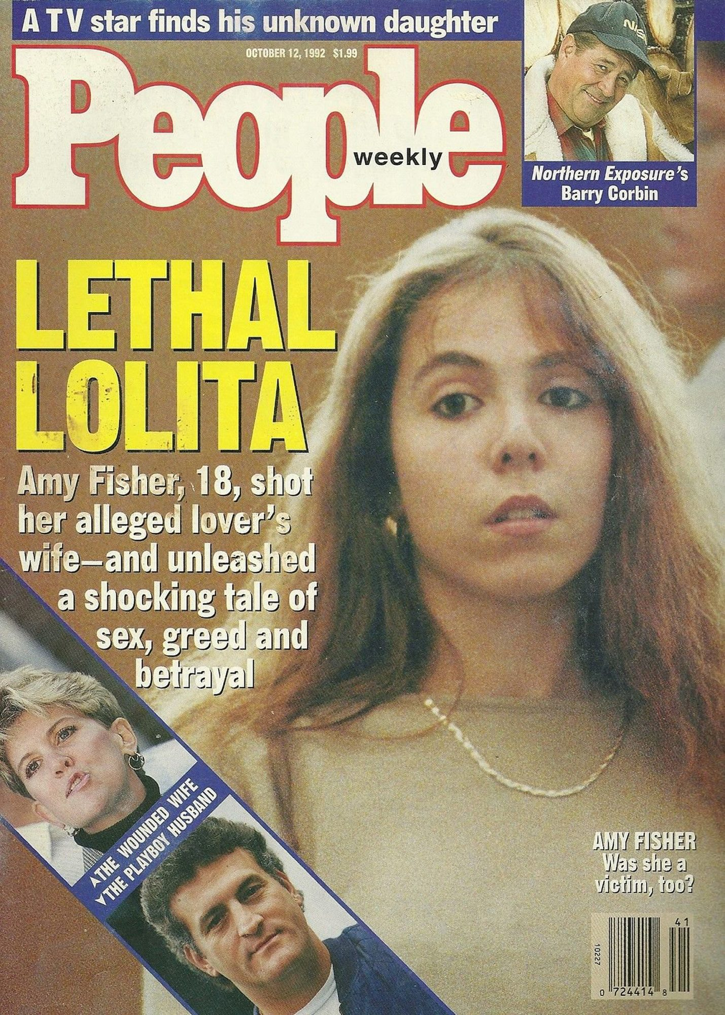 Amy Fisher Long Island Lolita October 12 1992 cover