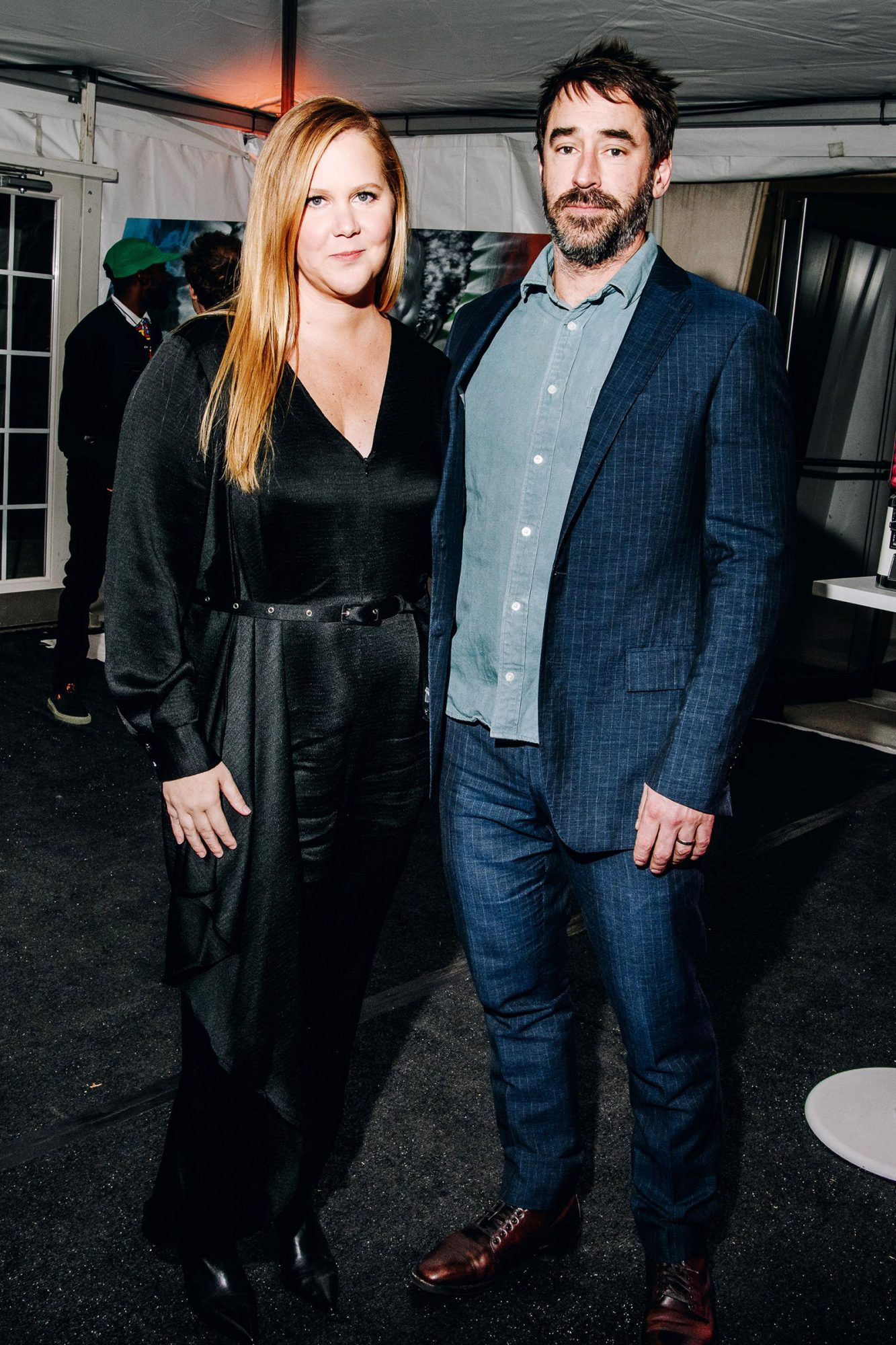 Amy Schumer, Chris Fischer attend Charlize Theron's Africa Outreach Project Fundraising Event, The Africa Center, New York, USA - 12 Nov 2019