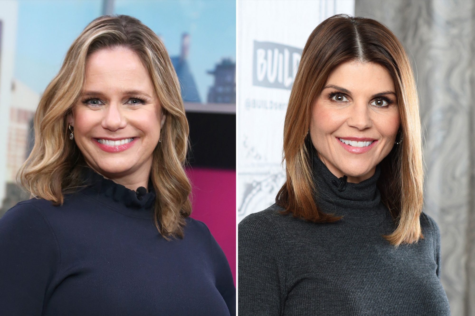 Andrea Barber and Lori Loughlin