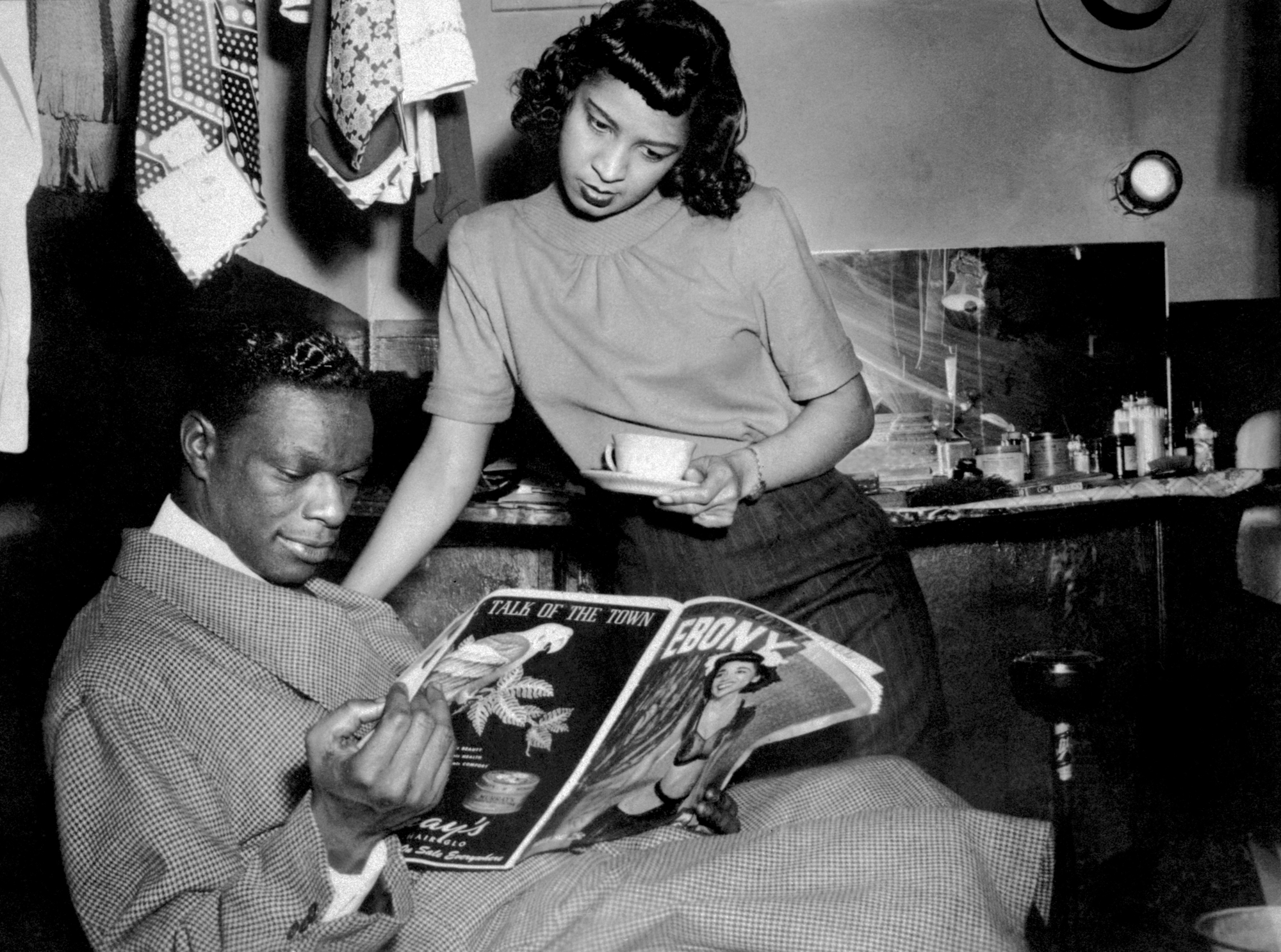 nat king Cole at the apollo theater