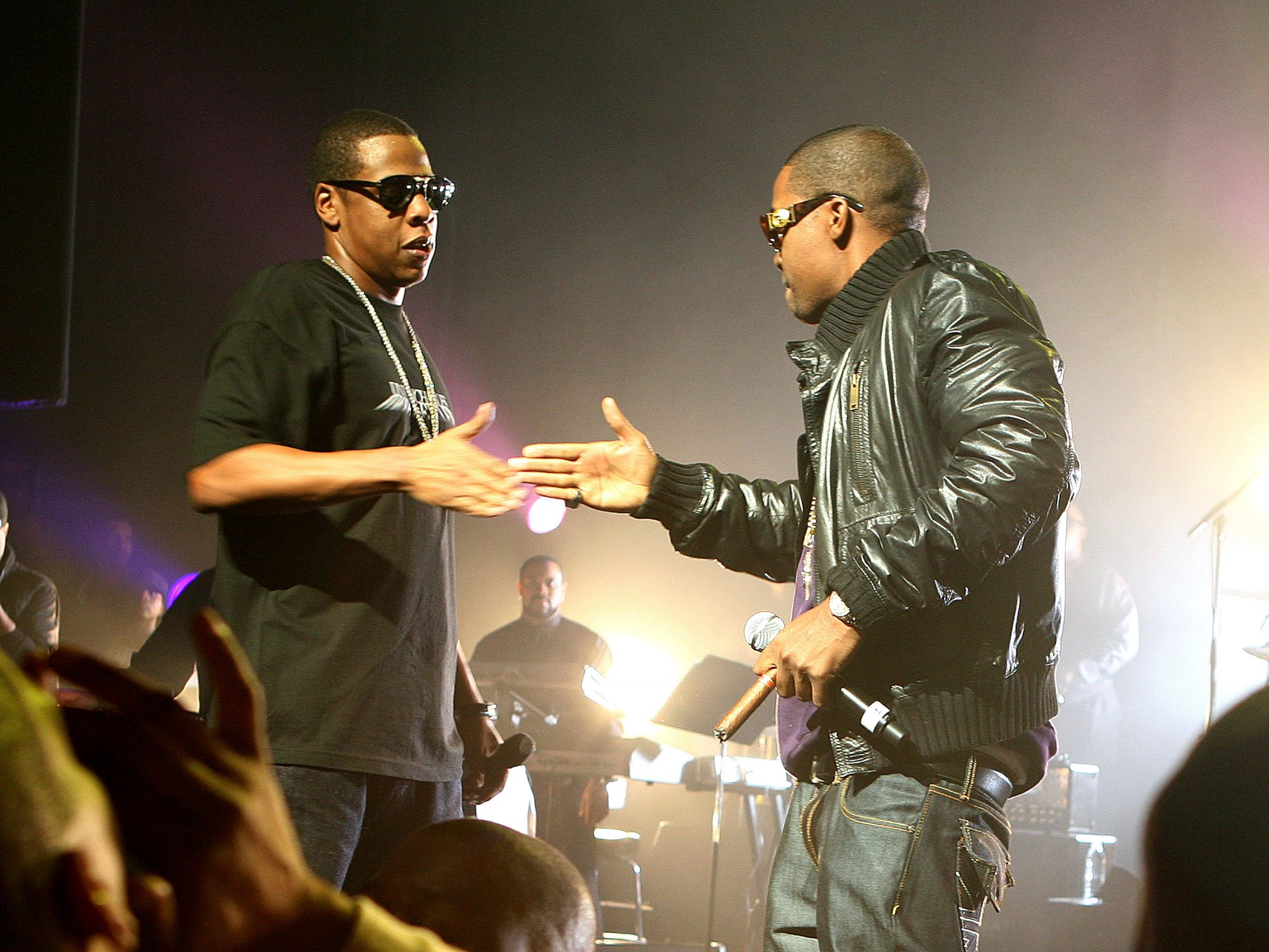 jay z and nas at the apollo
