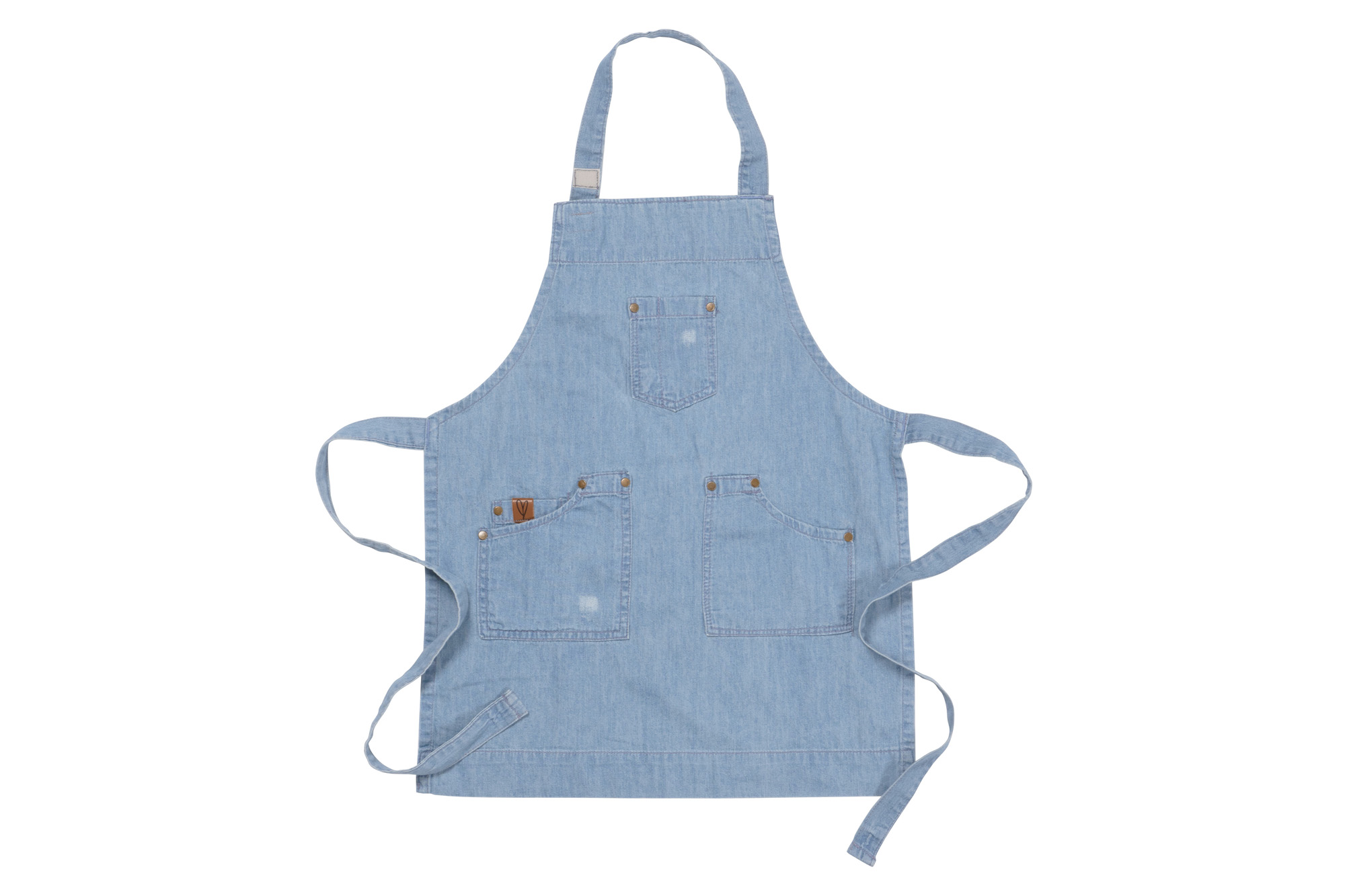 Ayesha Curry Collection Adult and Kid Denim Aprons