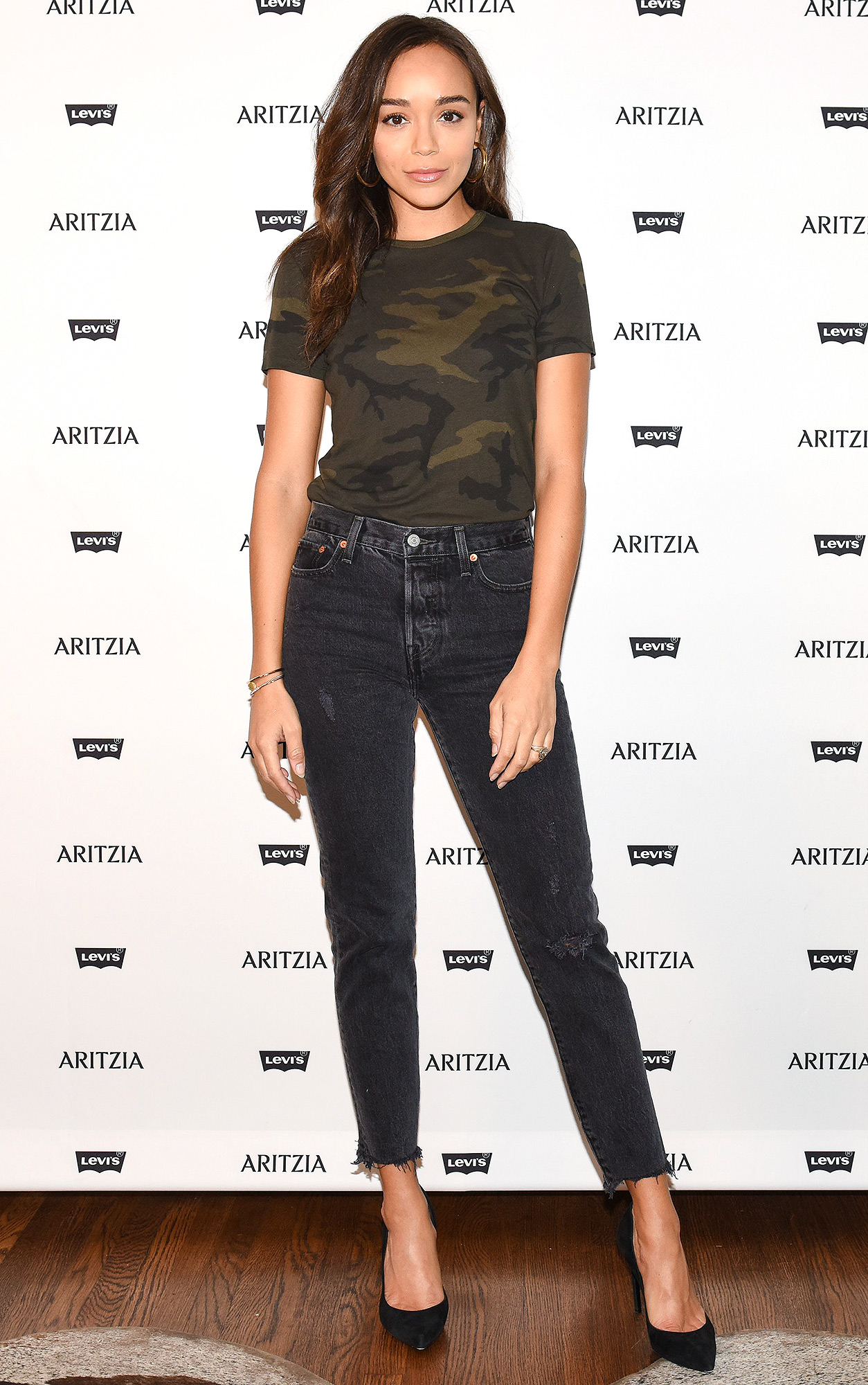 Levi's by Aritzia Collection launch, Los Angeles, USA - 16 Nov 2017
