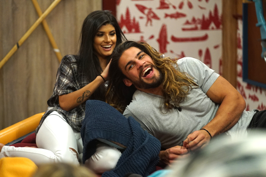 Analyst Talvera and Jack Matthews on Big Brother 21