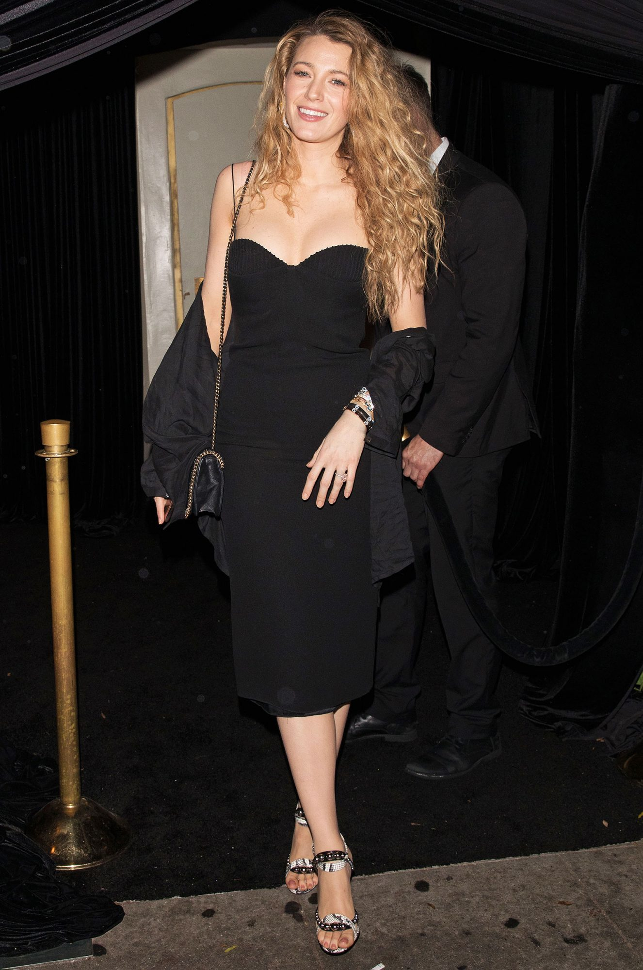 Blake Lively is seen leaving a Lorraine Schwartz event at Delilah in West Hollywood