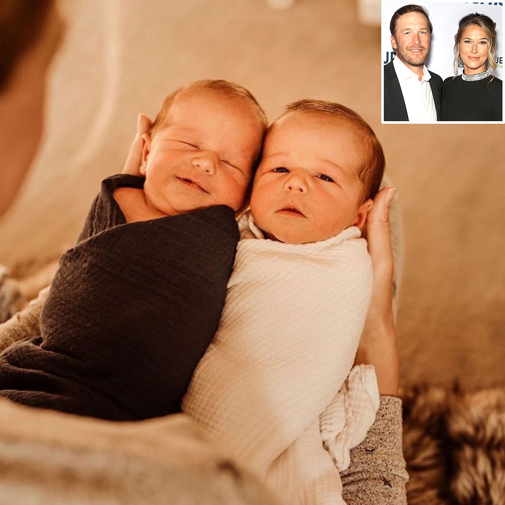 Bode and Morgan Miller welcome twins