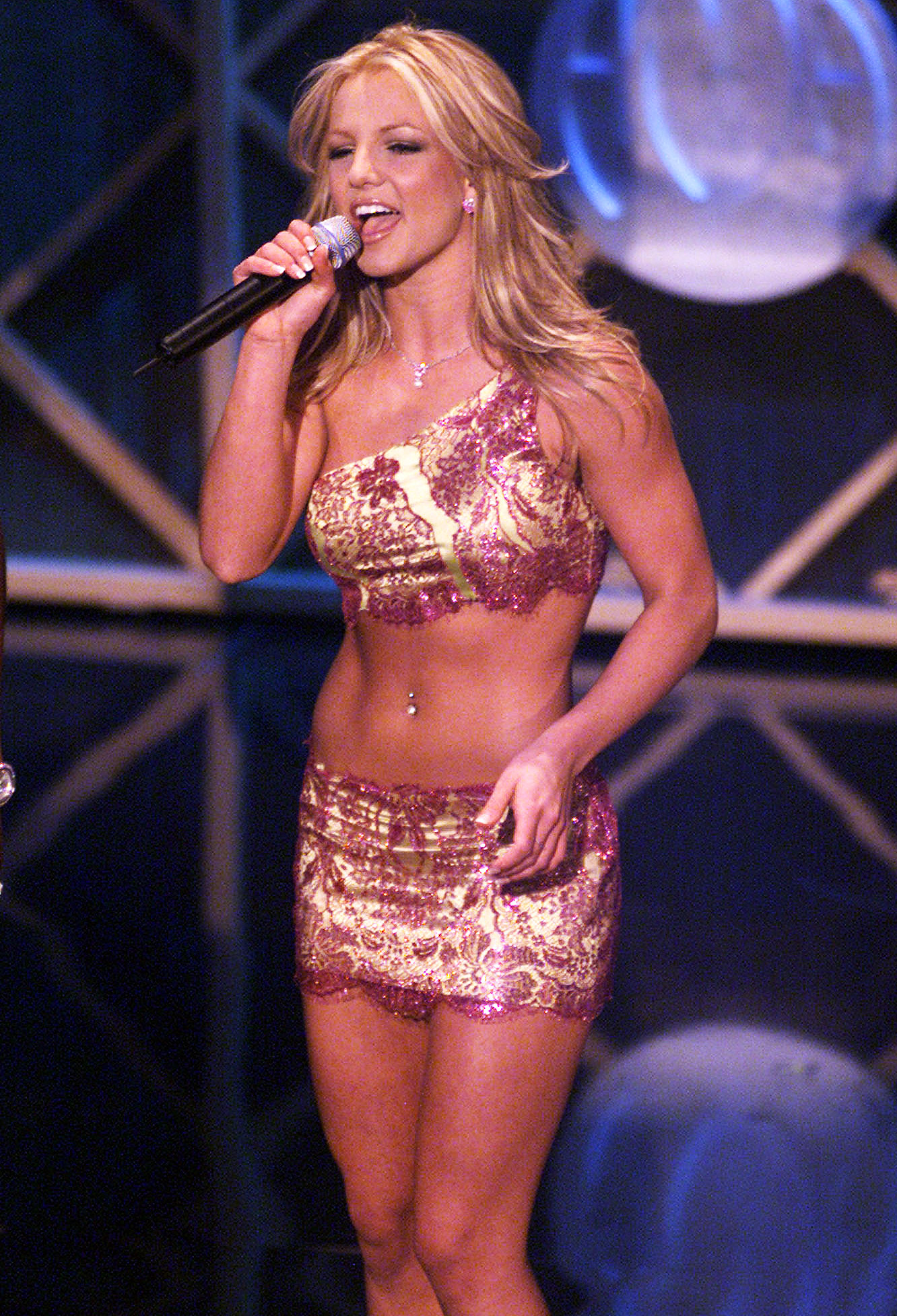 Britney Spears appears at the 28th Annual American Music Awards