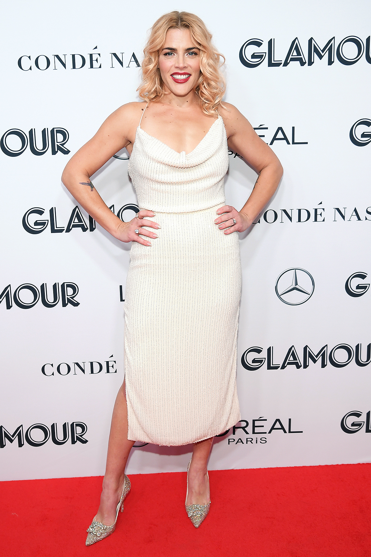 Busy Philipps attends the 2019 Glamour Women Of The Year Award