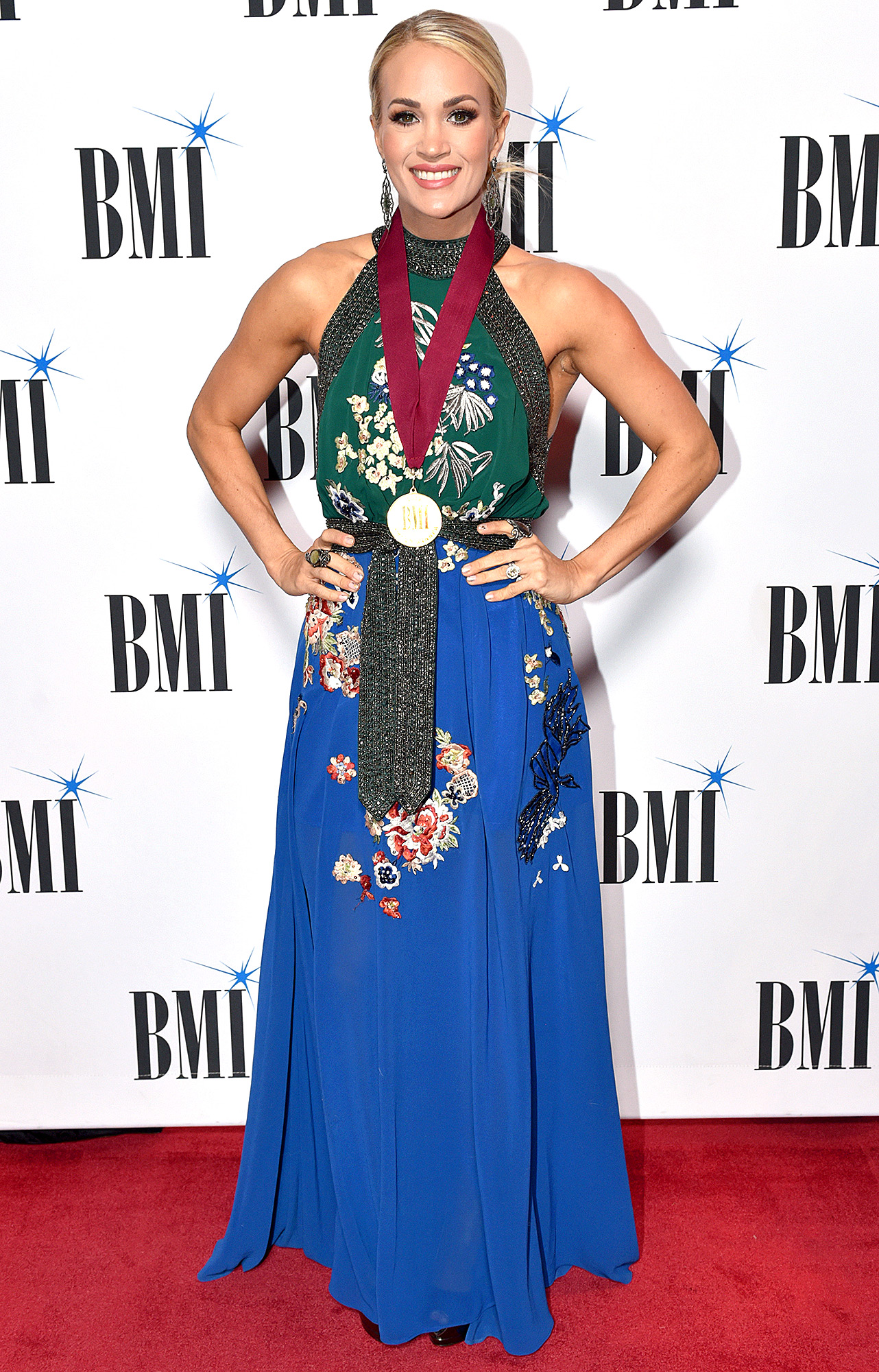Carrie Underwood attends as BMI presents Dwight Yoakam with President's Award