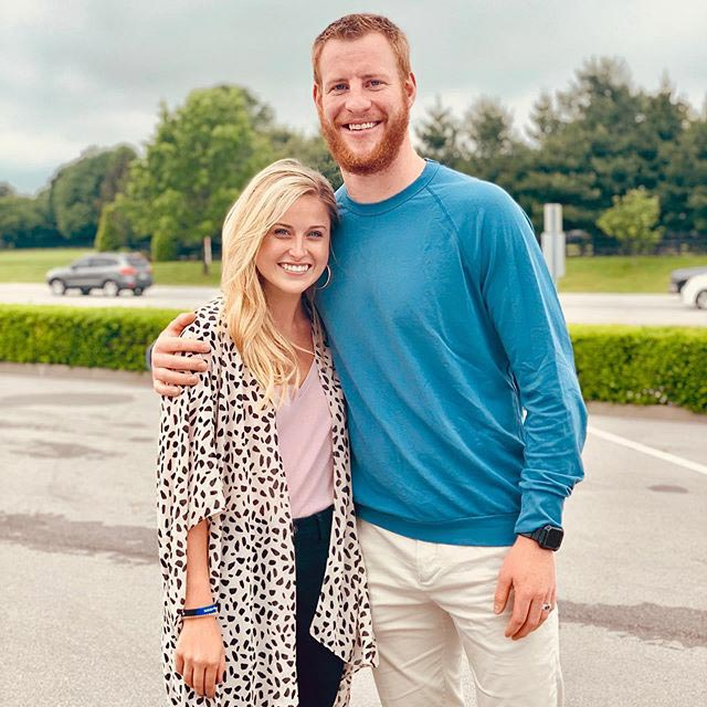 Carson Wentz Expecting First Child With Wife Madison People Com