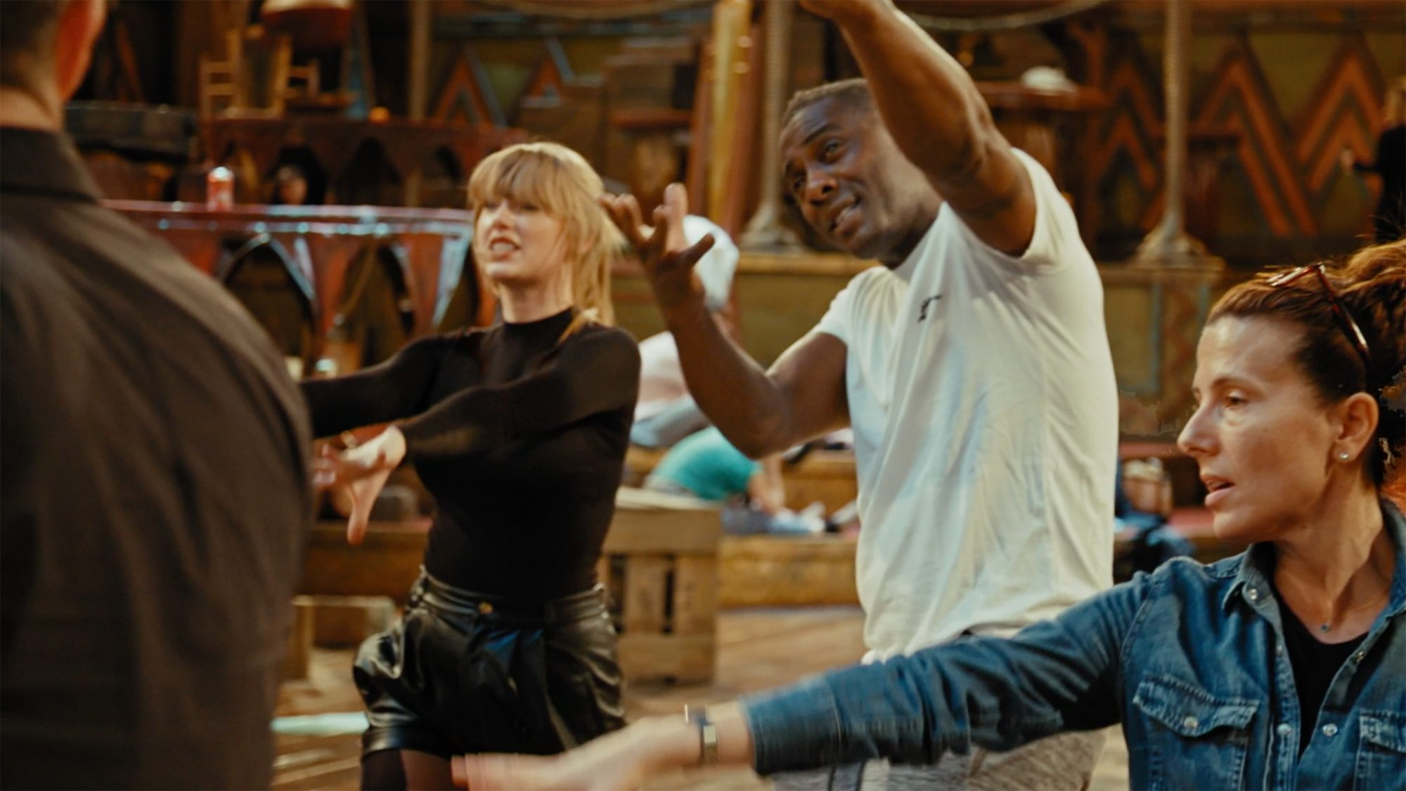 Taylor Swift, idris Elba CATS Universal Pictures