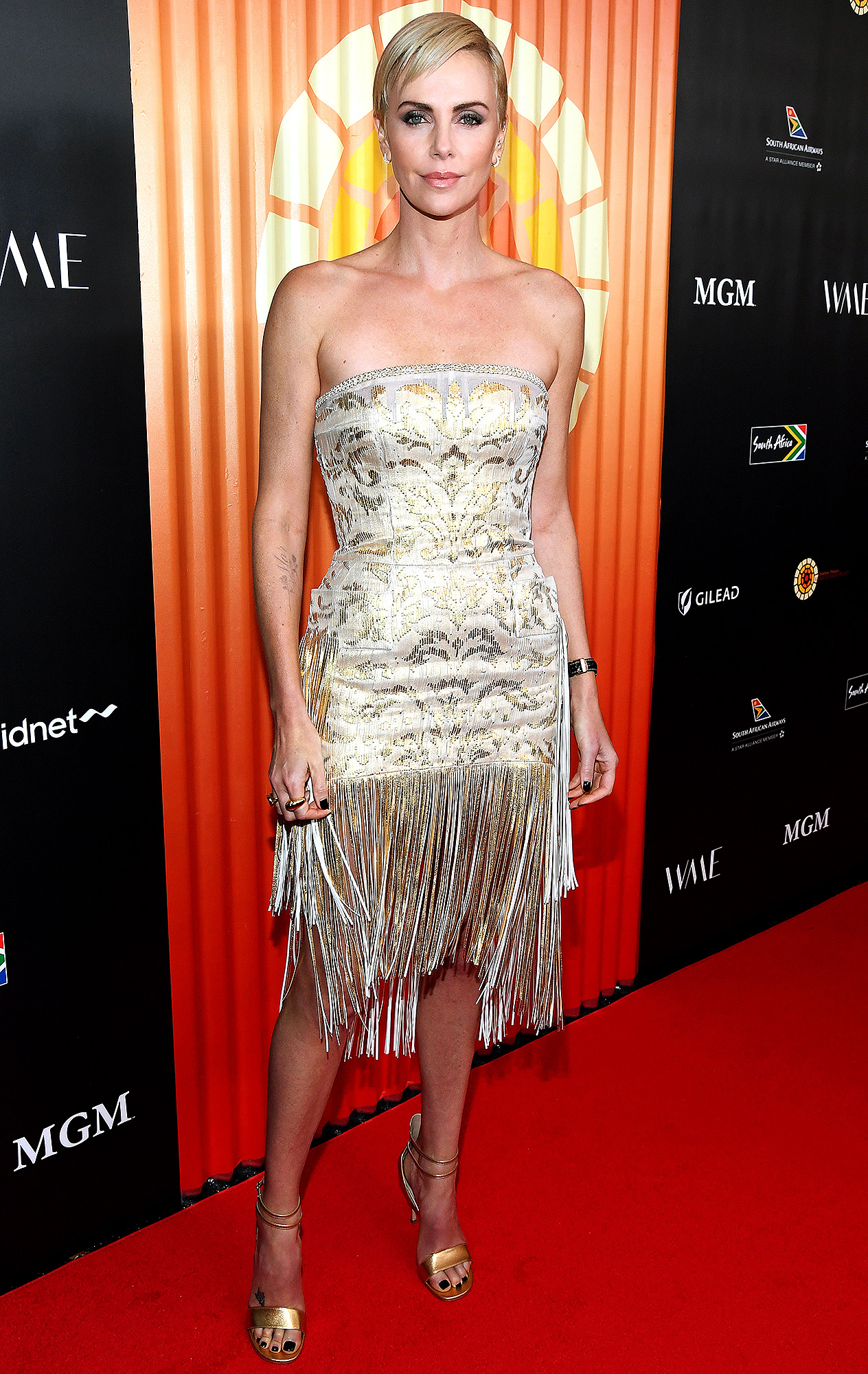 Charlize Theron attends The Charlize Theron Africa Outreach Project fundraising event