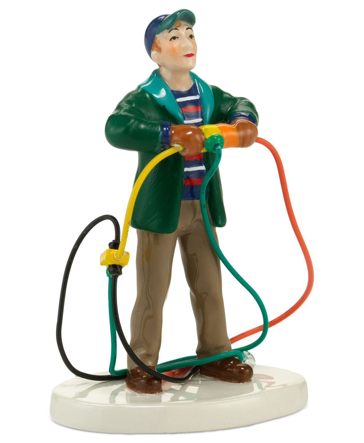 Snow Village National Lampoon's Christmas Vacation Fire It Up Dad Collectible Figurine
