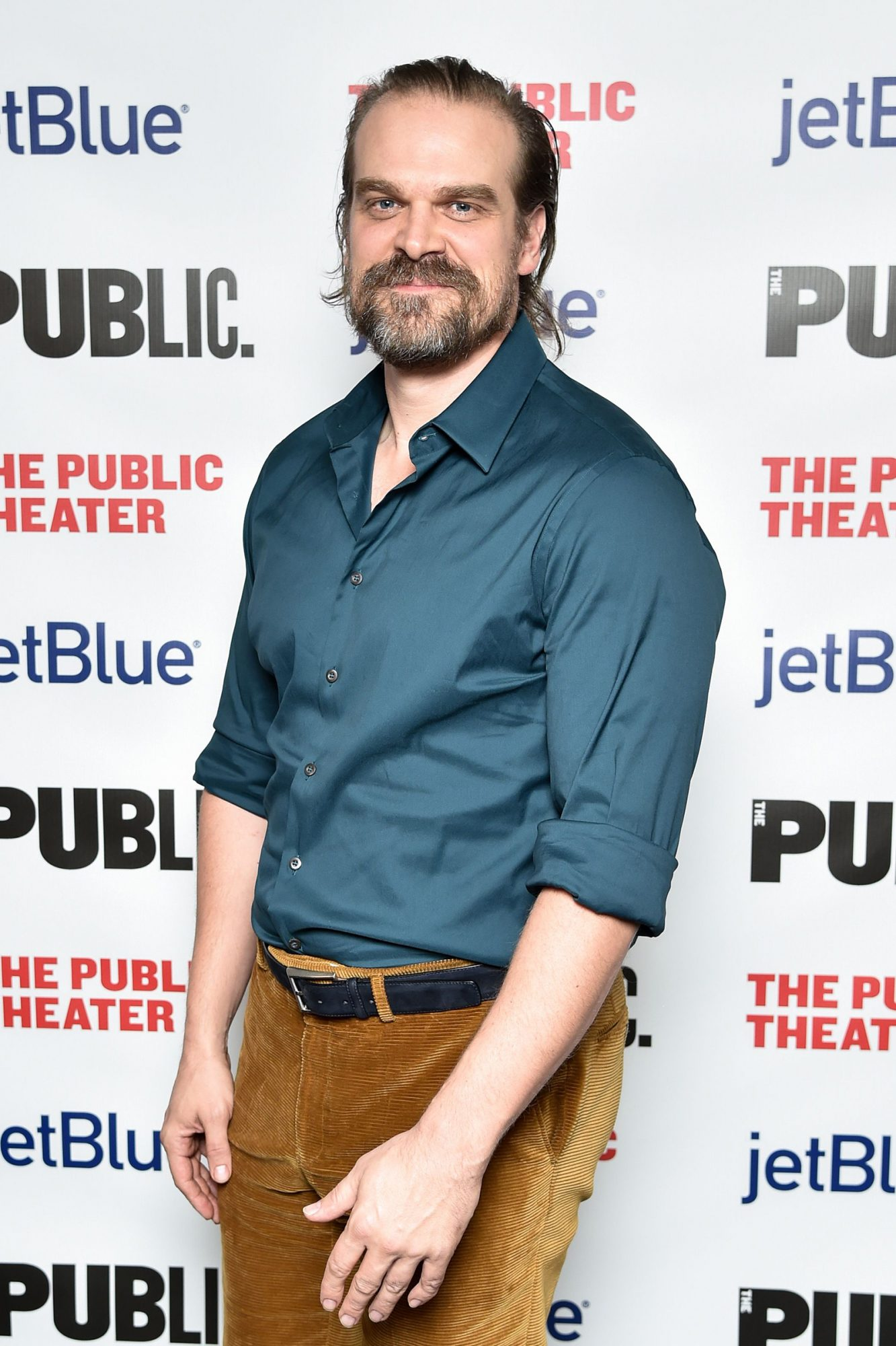 David Harbour 'A Bright Room Called Day' opening night celebration, Arrivals, The Public Theater, New York, USA - 19 Nov 2019