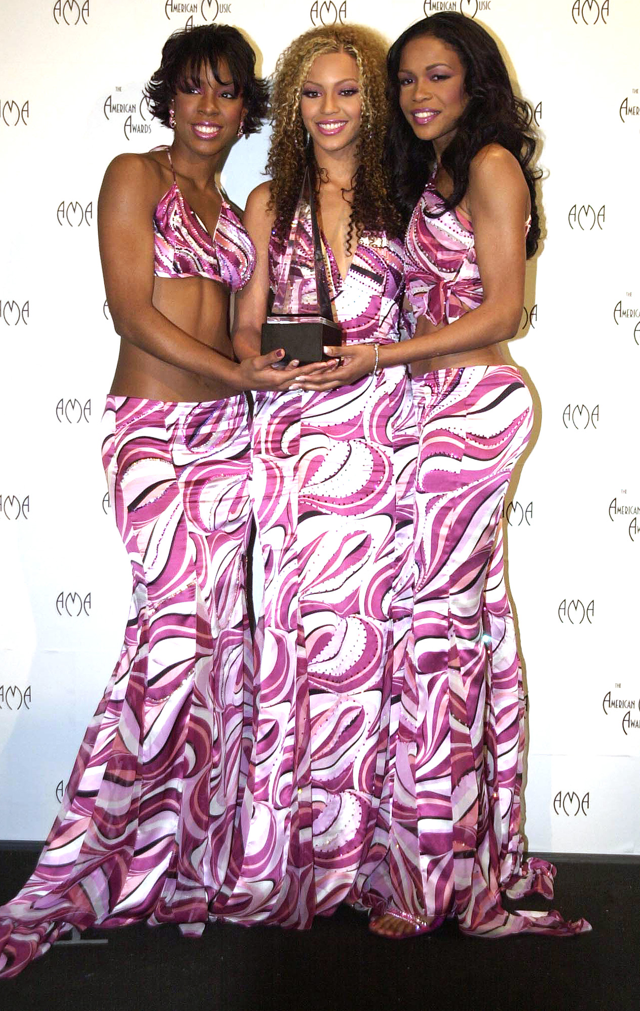 Destiny's Child at the American Music Awards in Los Angeles