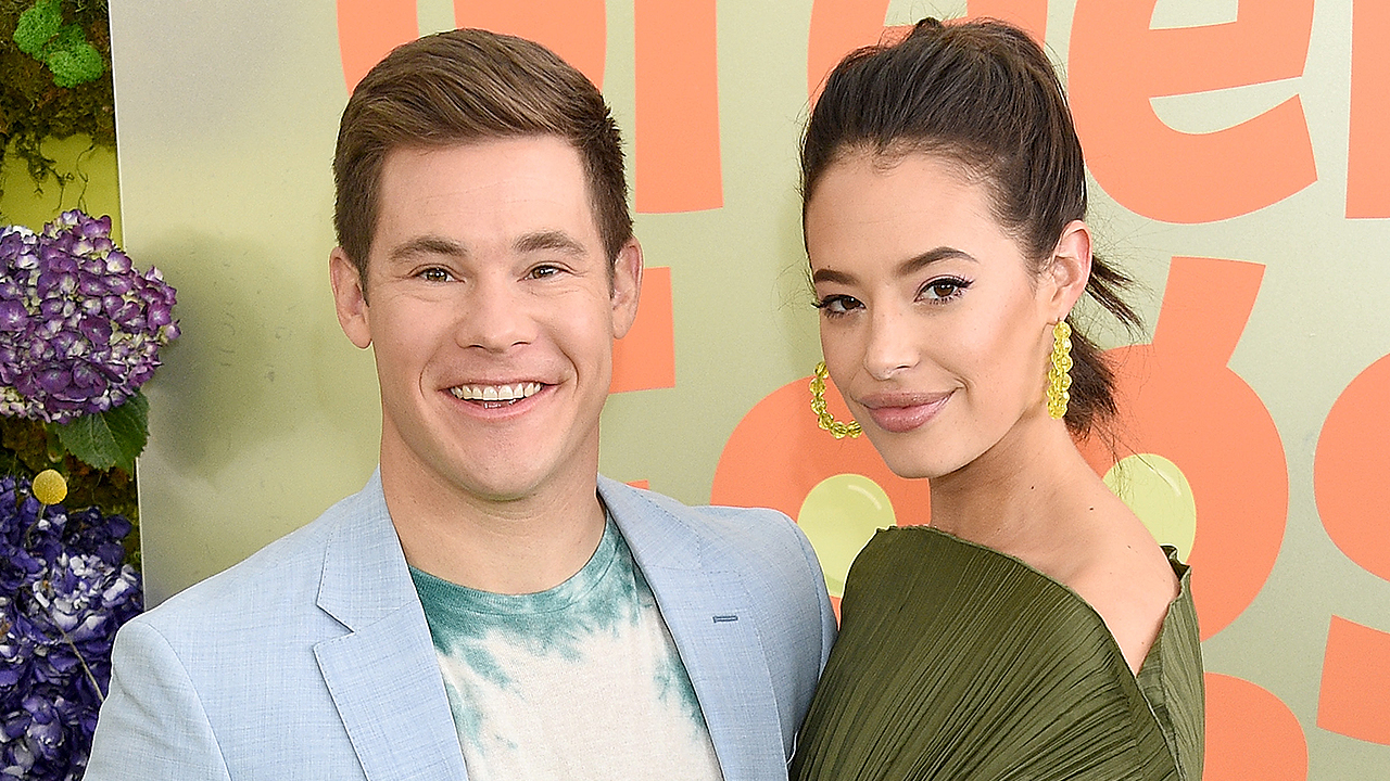 Adam Devine Was 'Super Nervous' Proposing to Chloe Bridges but 'Knew She Was Going to Say Yes'