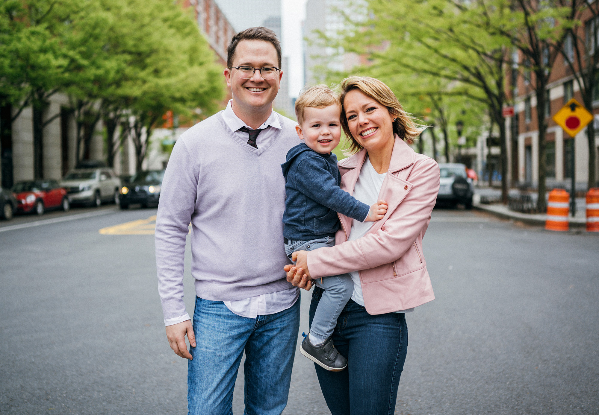 Dylan dreyer, Brian and son calvin