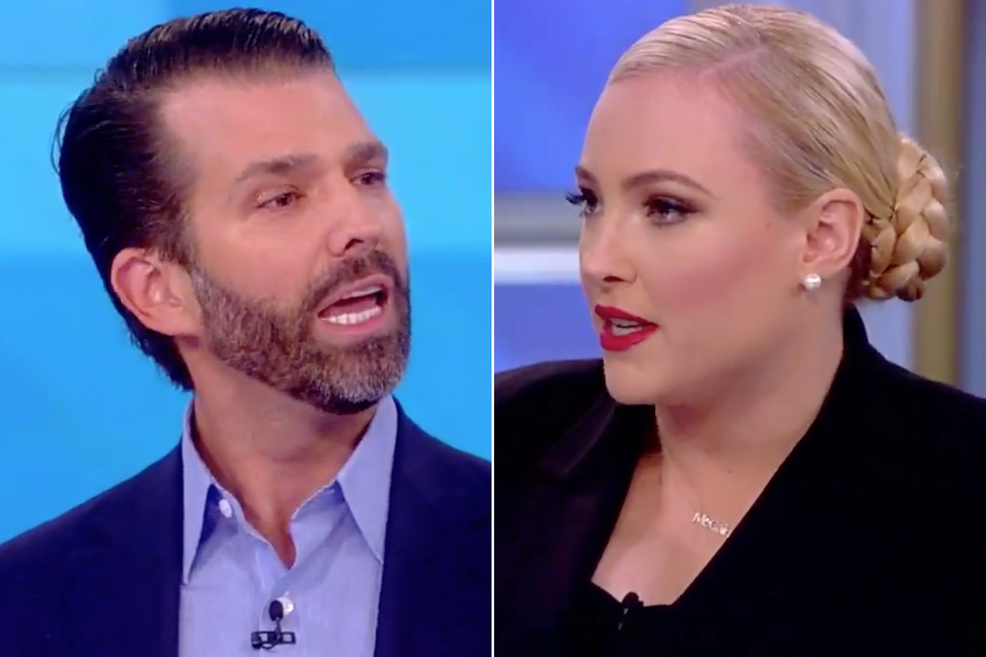 Donald Trump Jr. Meghan McCain