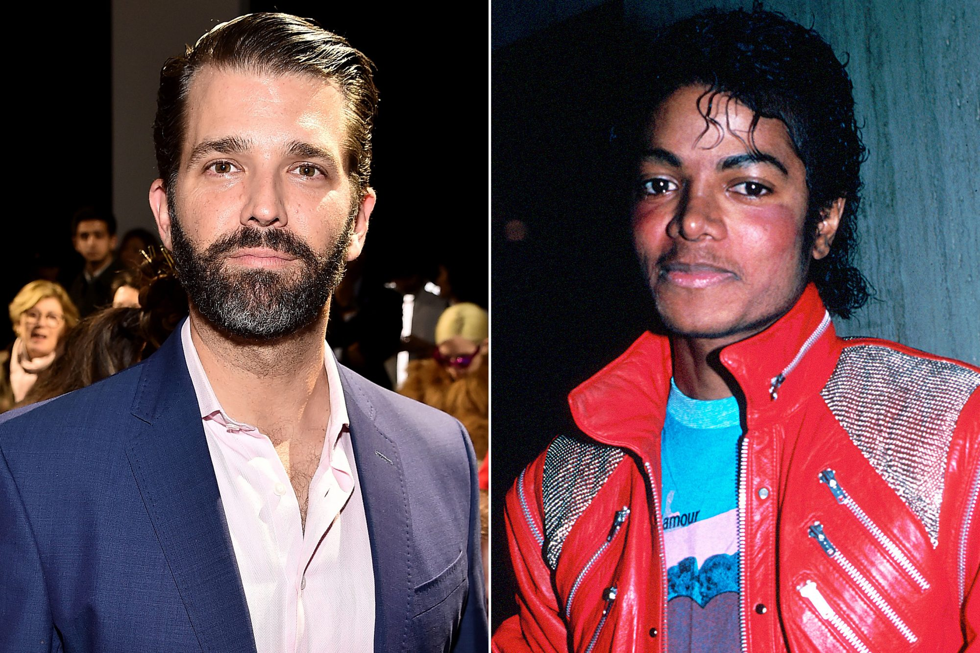 Donald Trump Jr, Michael Jackson