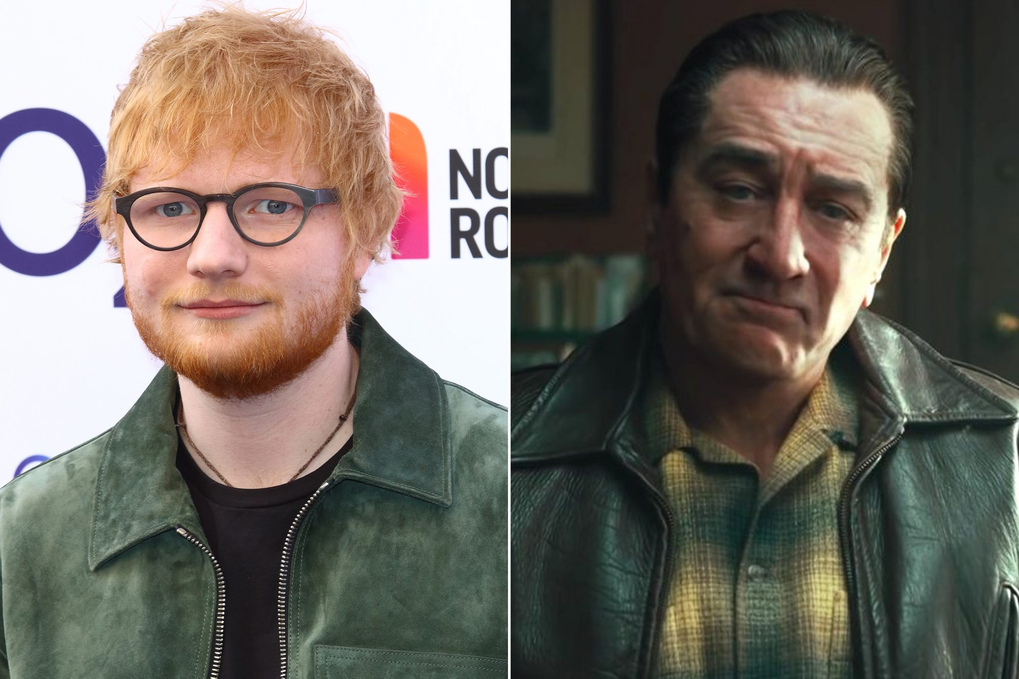 Ed Sheeran, Robert De Niro