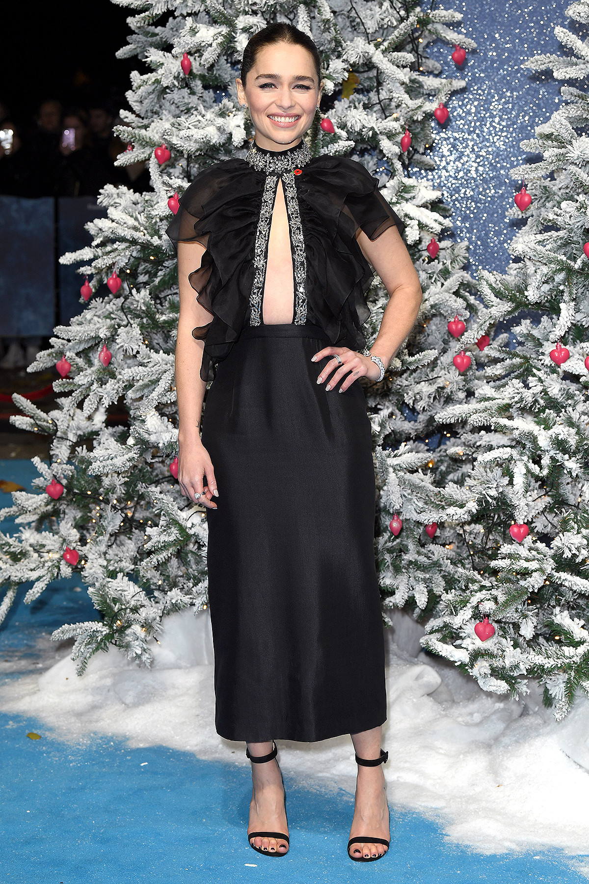 "Emilia Clarke attends the ""Last Christmas"" UK Premiere"