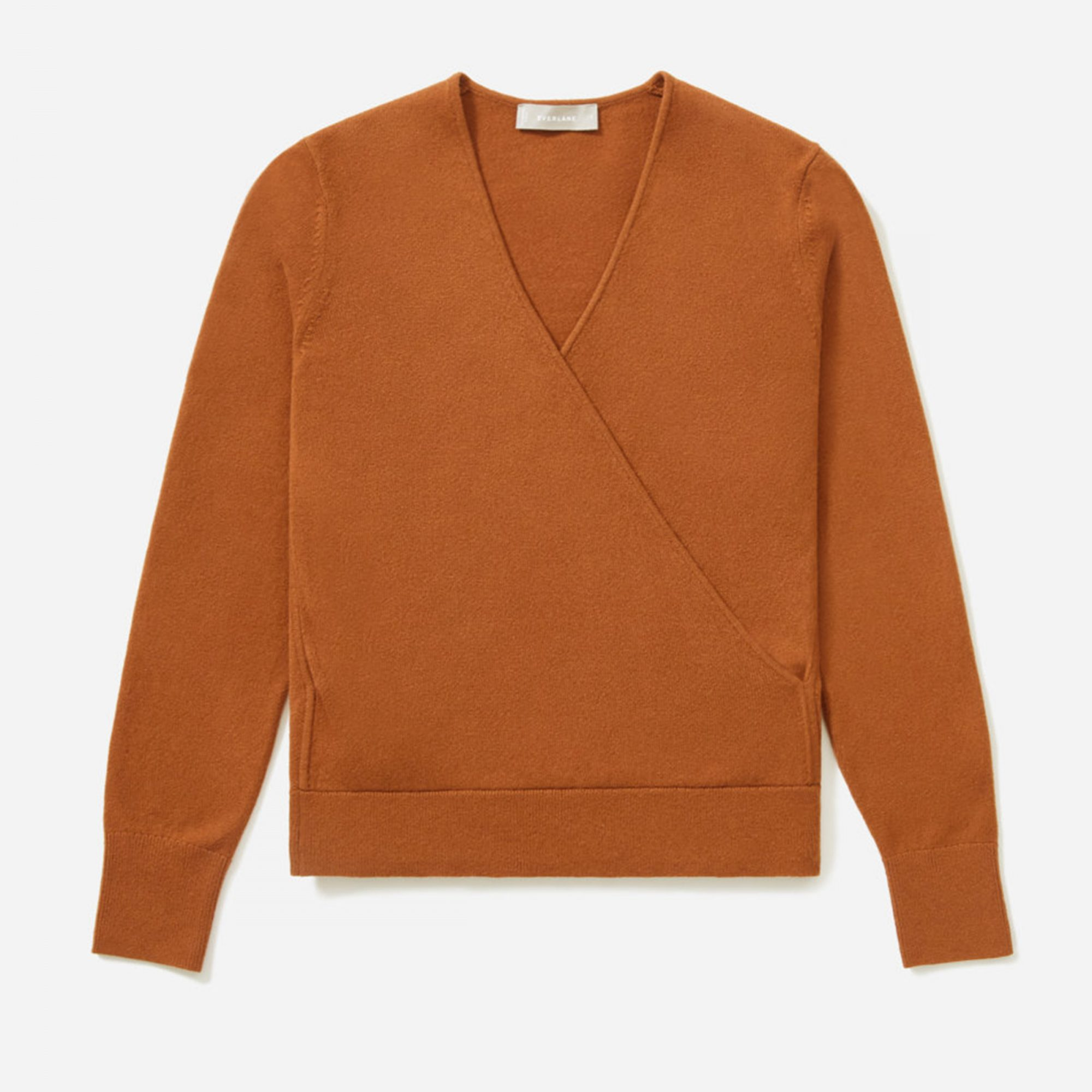 The Cashmere Wrap Sweater