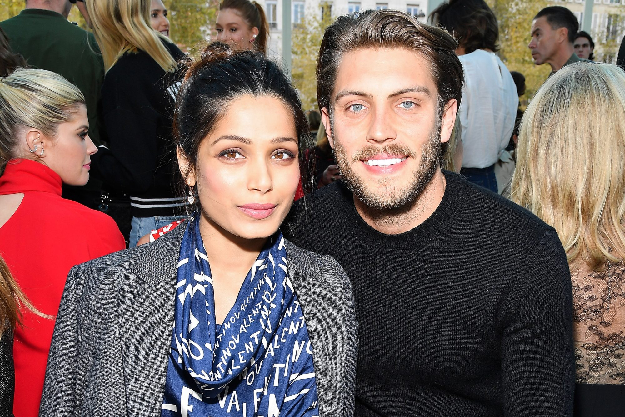 Freida Pinto Is Engaged! Actress to Wed Photographer Cory ...