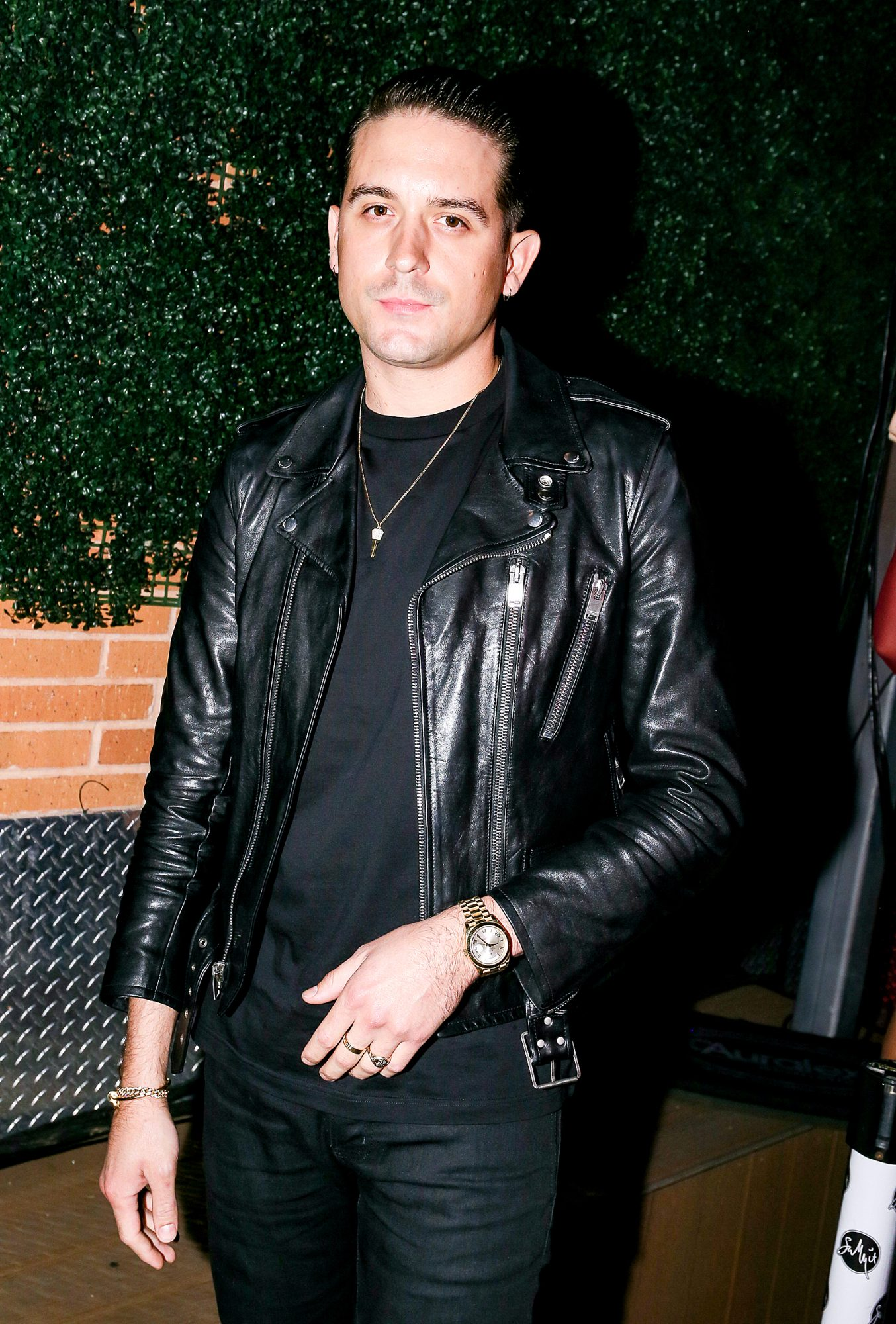 G Eazy at the Austin Elevates event which beneifited local nonprofit organizations: The SAFE Alliance, Superhero Kids and St. David's Foundation Community Fund