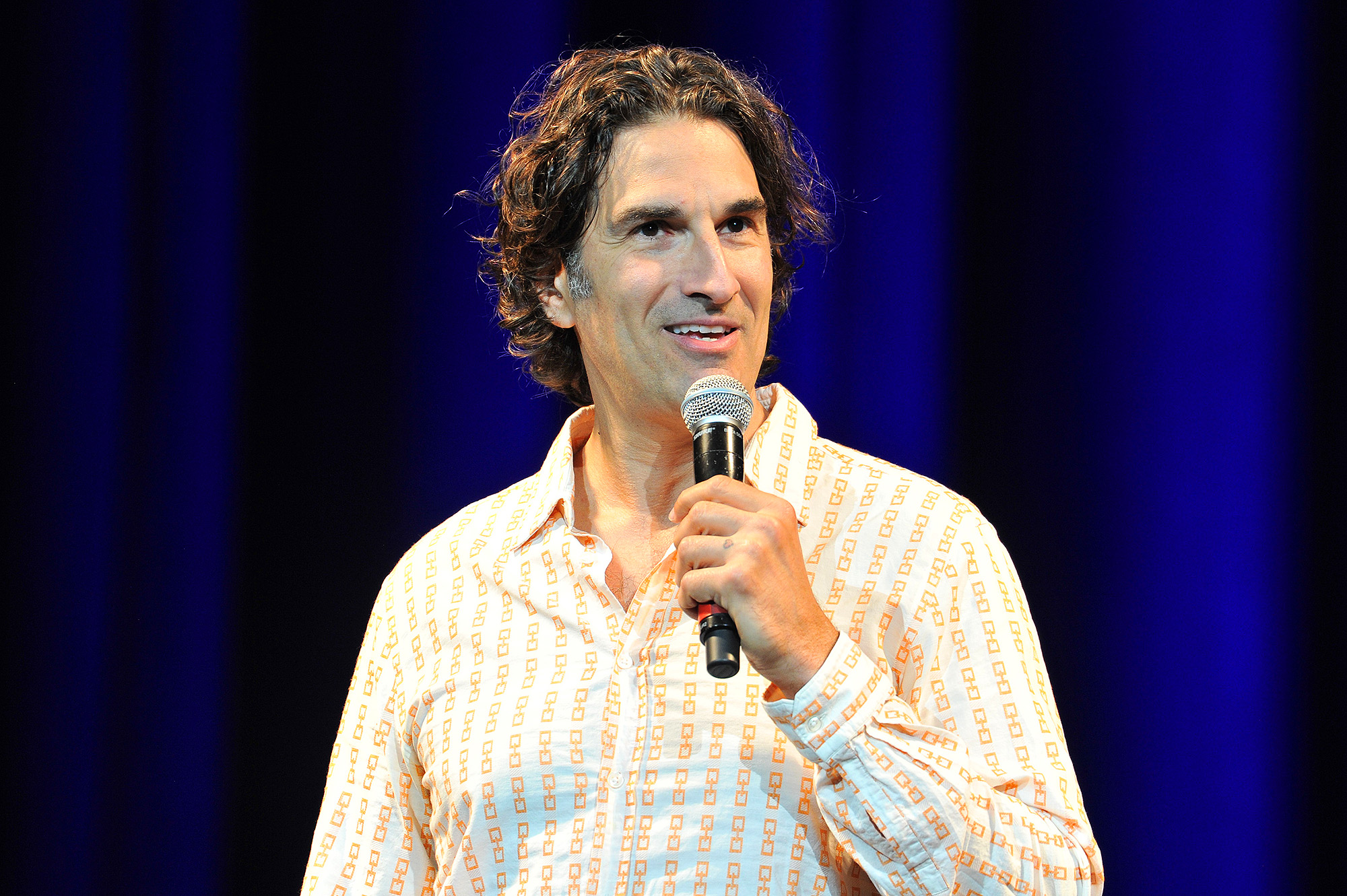 "Comedian Gary Gulman performs at ""Late Night"" presented by the Solomon Society and Jewish Federation"