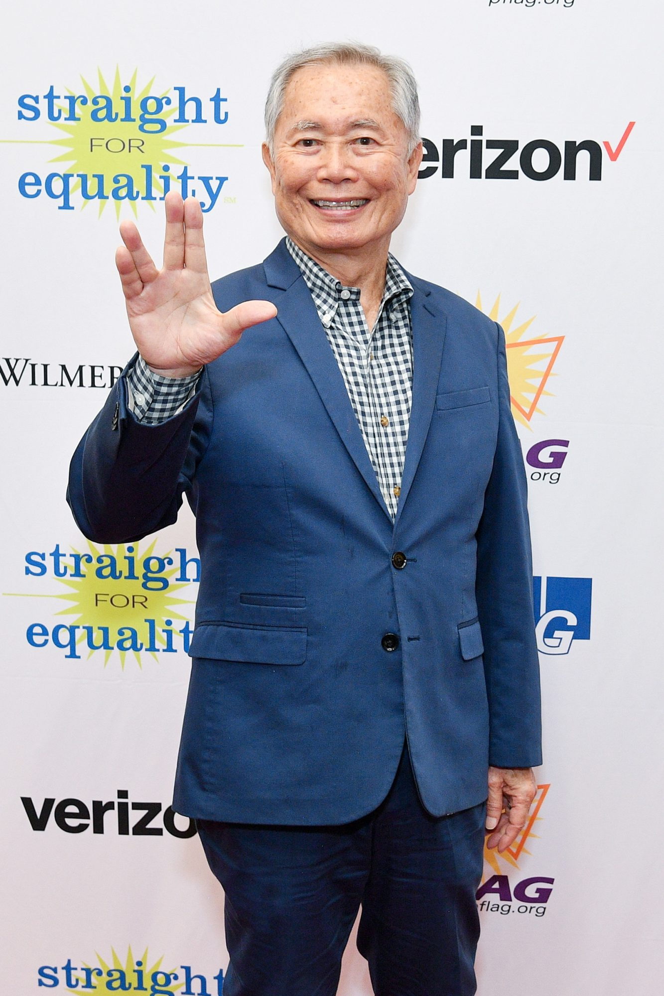 George Takei attends PFLAG Gives Thanks: Celebrating Inclusion in the Workplace on November 18, 2019 in New York City