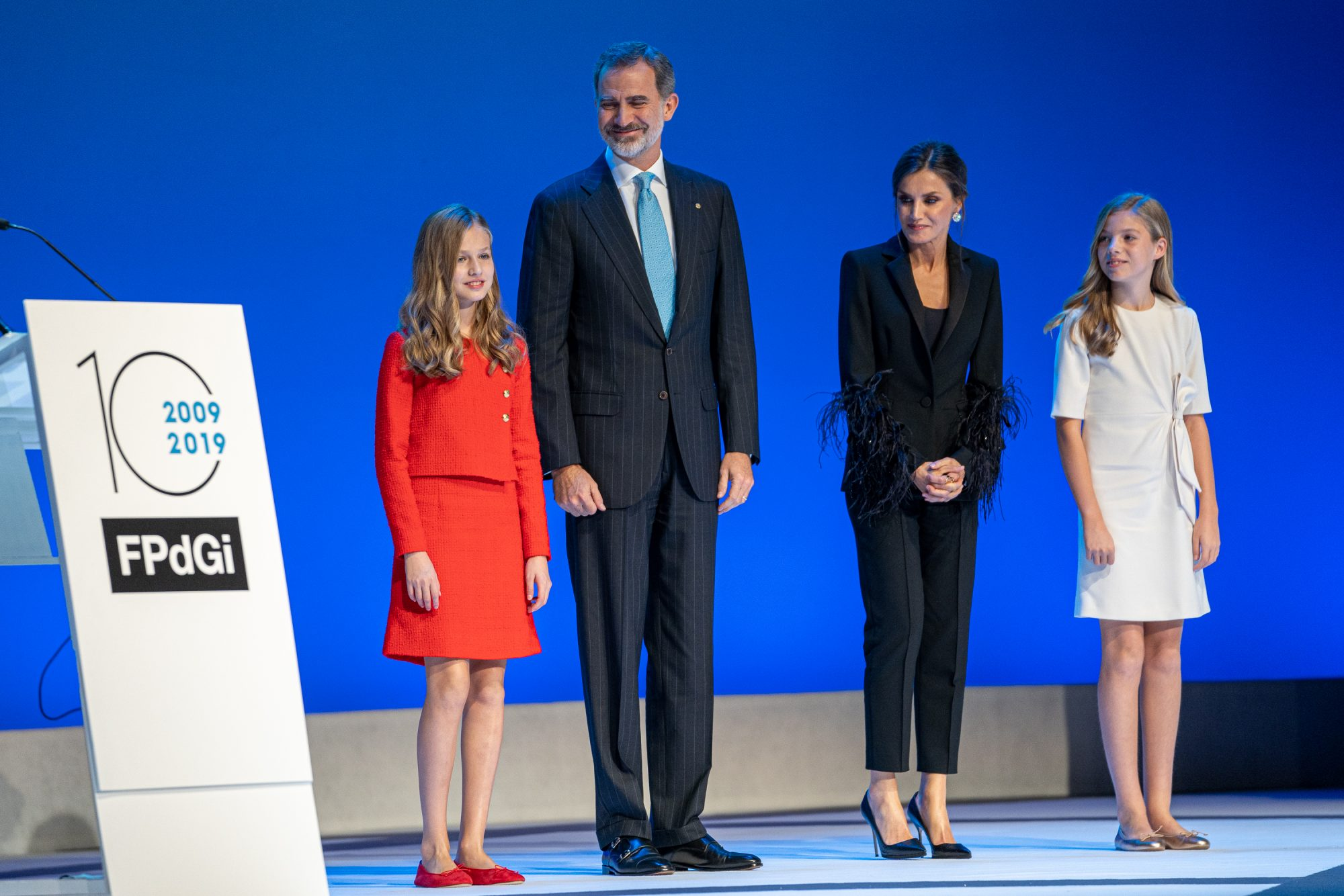Spanish Royals Attend 'Princesa de Girona' Foundation Awards