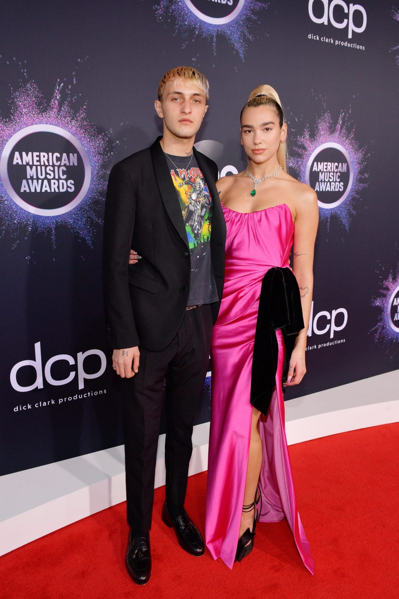 Anwar Hadid and Dua Lipa