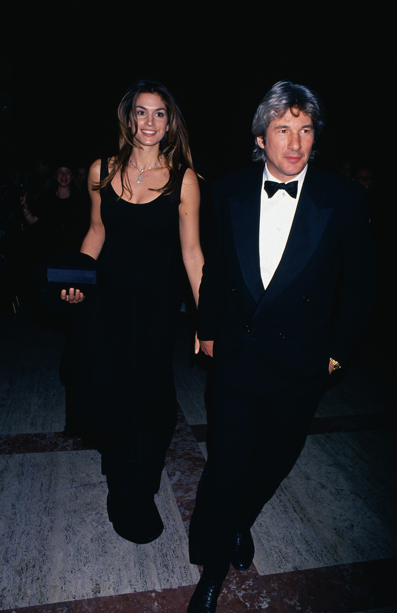 Richard Gere with Cindy Crawford