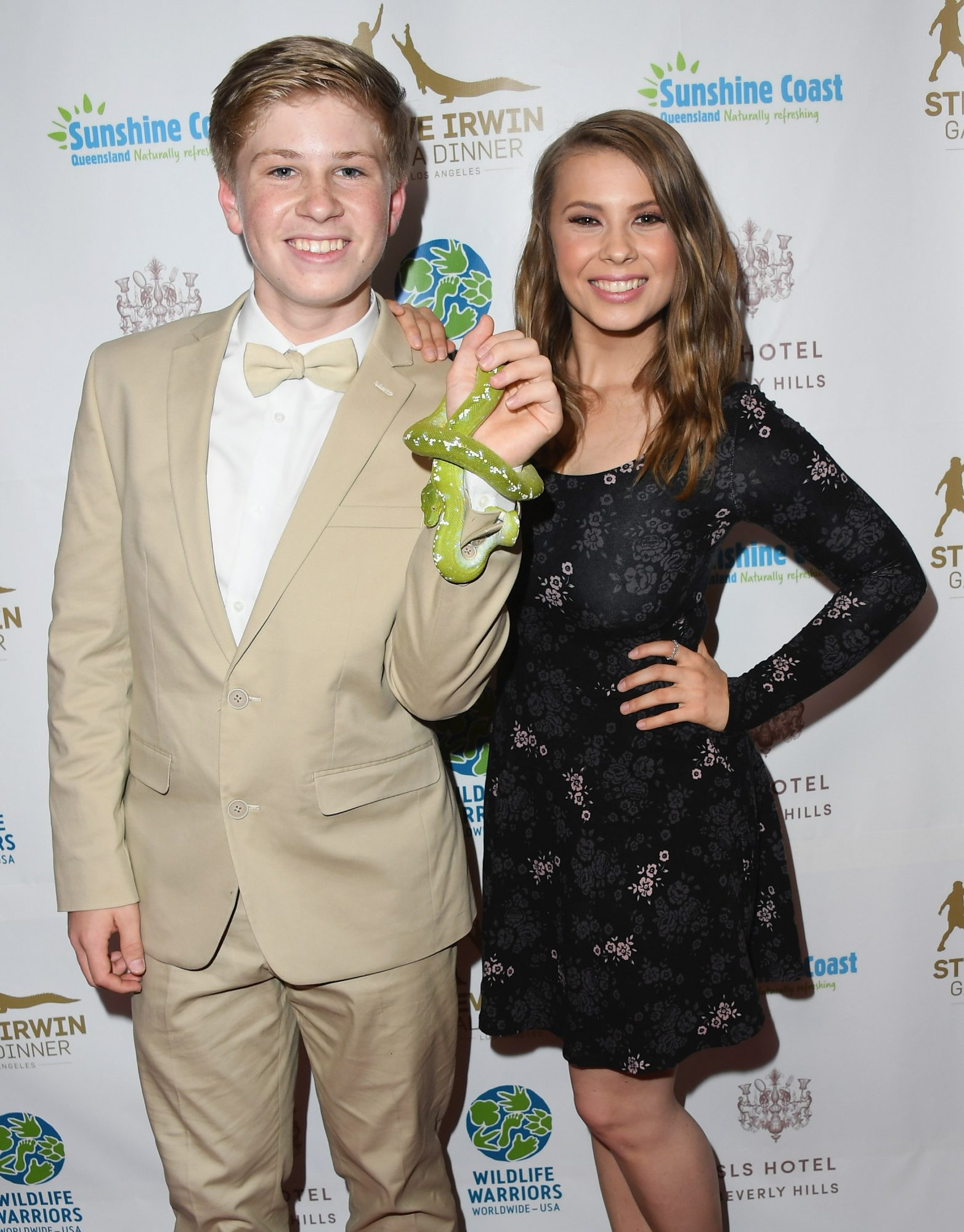 Robert Irwin and Bindi Irwin