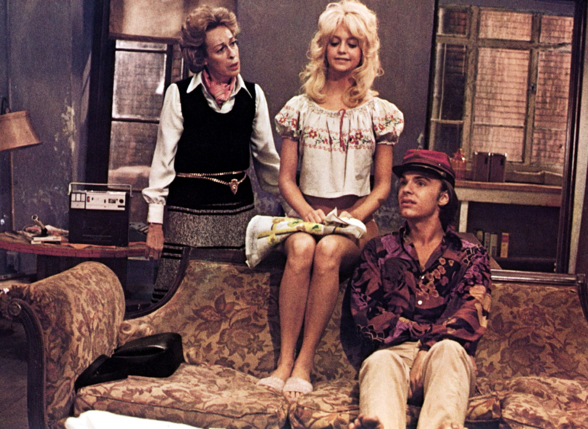BUTTERFLIES ARE FREE, Eileen Heckart, Goldie Hawn, Edward Albert, 1972