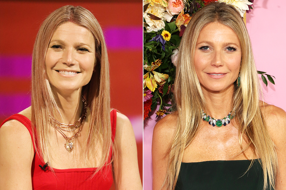 gwyneth paltrow hair changes