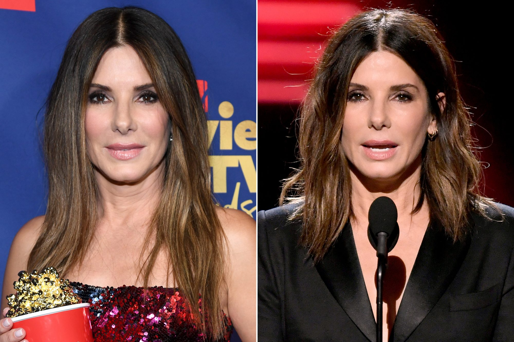 Sandra Bullock hair changes