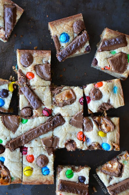 baking with halloween candy