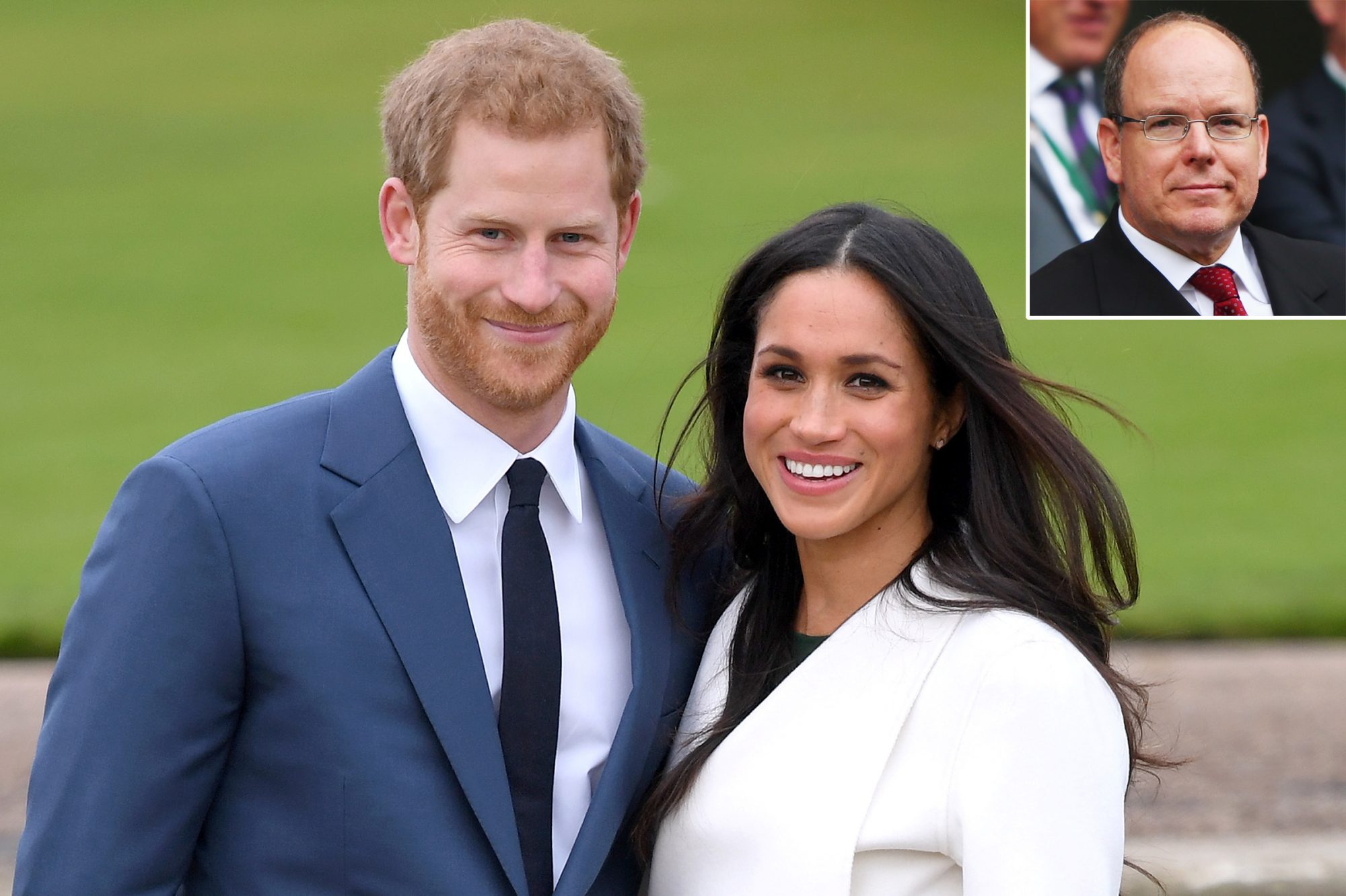 Prince Harry and Meghan Markle, Prince Albert II