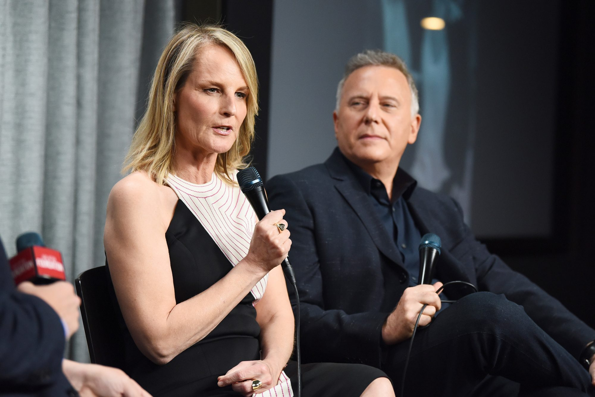 """Helen Hunt and Paul Reiser at SAG-AFTRA Foundation conversations with """"Mad About You"""" at SAG-AFTRA Foundation Screening Room on November 11, 2019 in Los Angeles"""