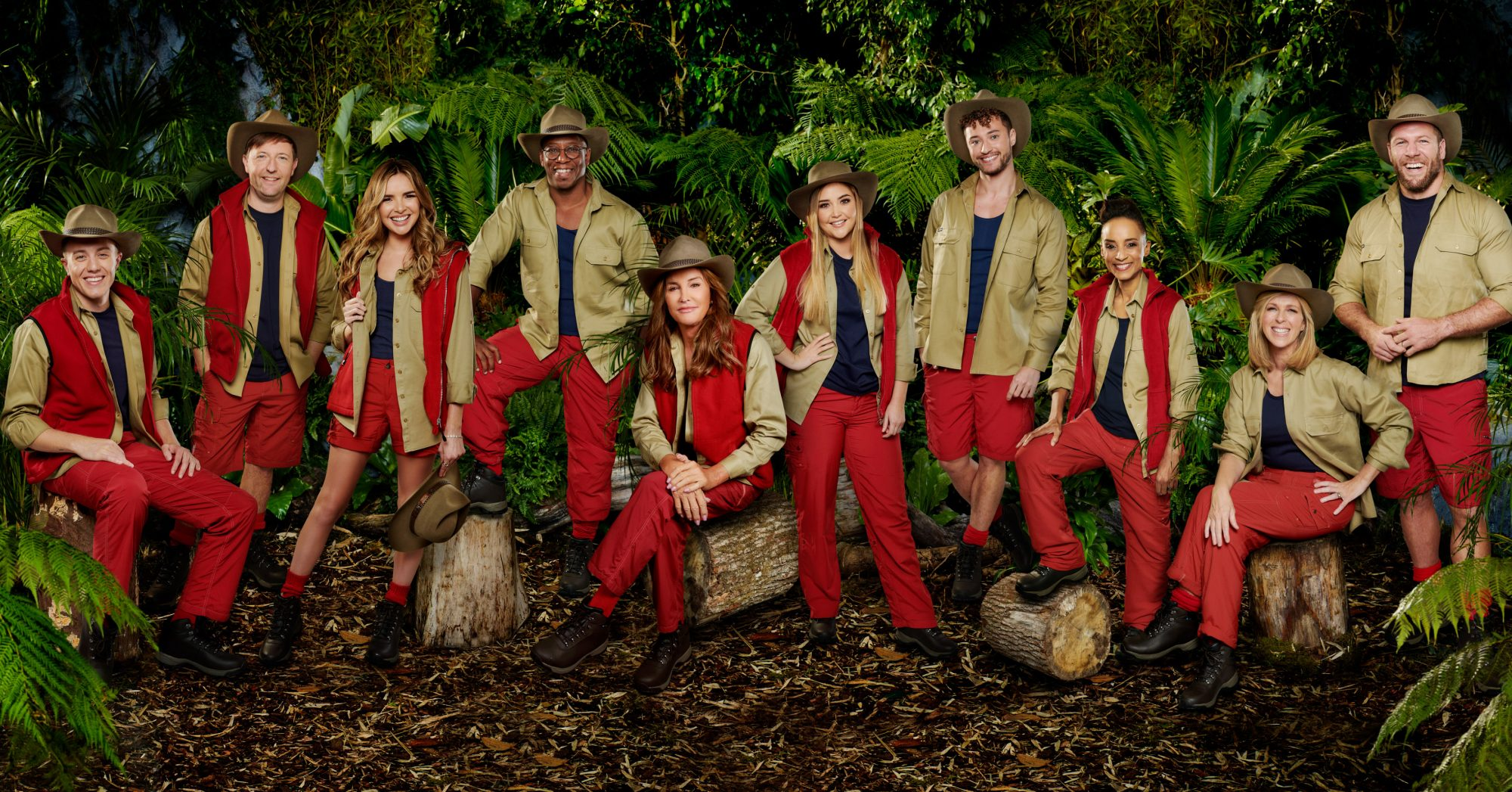 The Cast of I'm A Celebrity: Get Me Out Of Here
