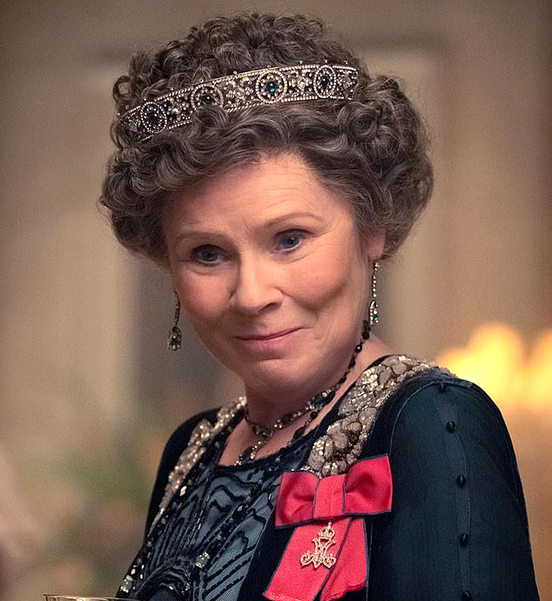 Imelda Staunton in Downton Abbey