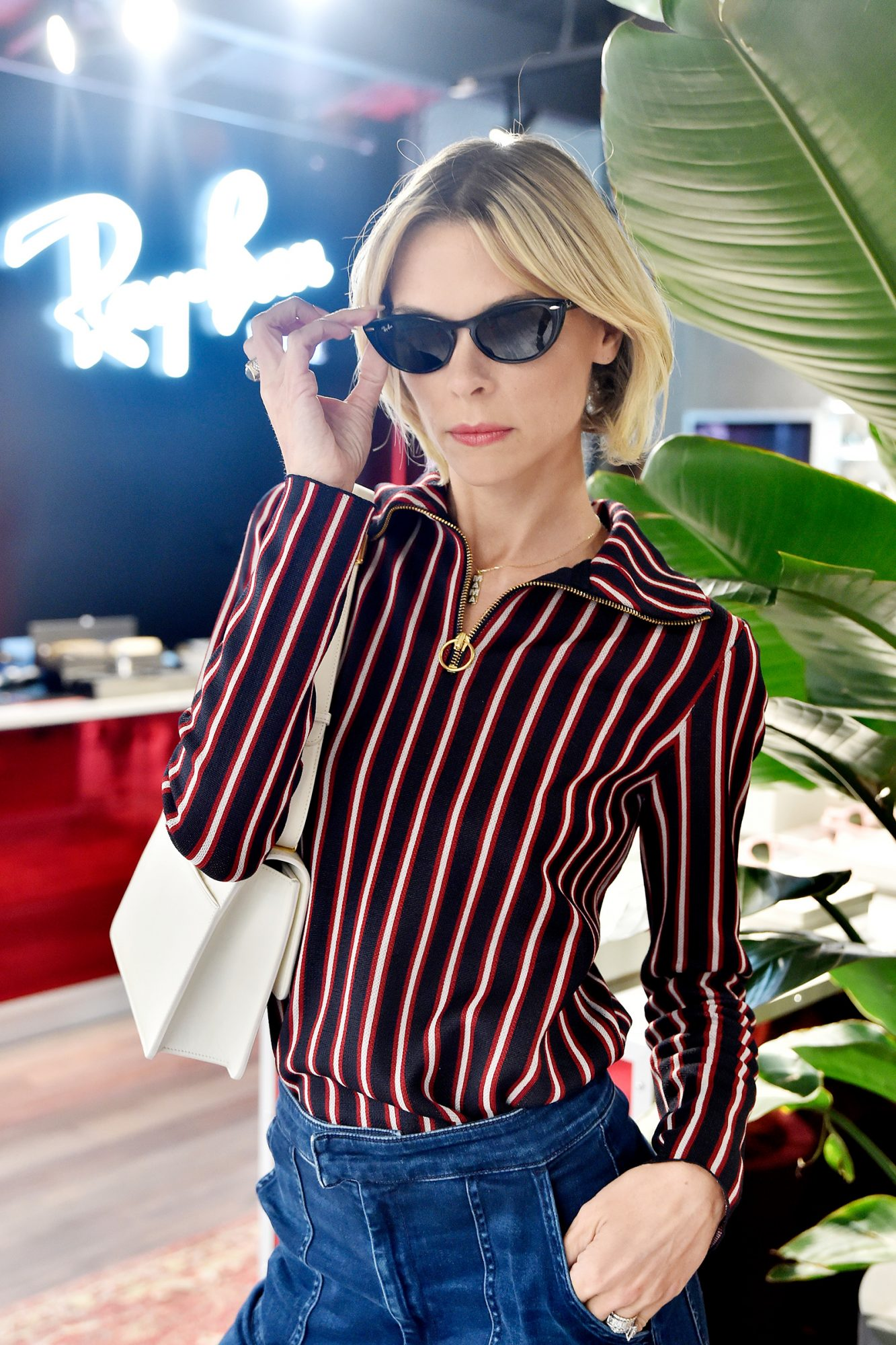 Jaime King attends Ray-Ban Venice Store Opening Event on November 07, 2019 in Venice, California